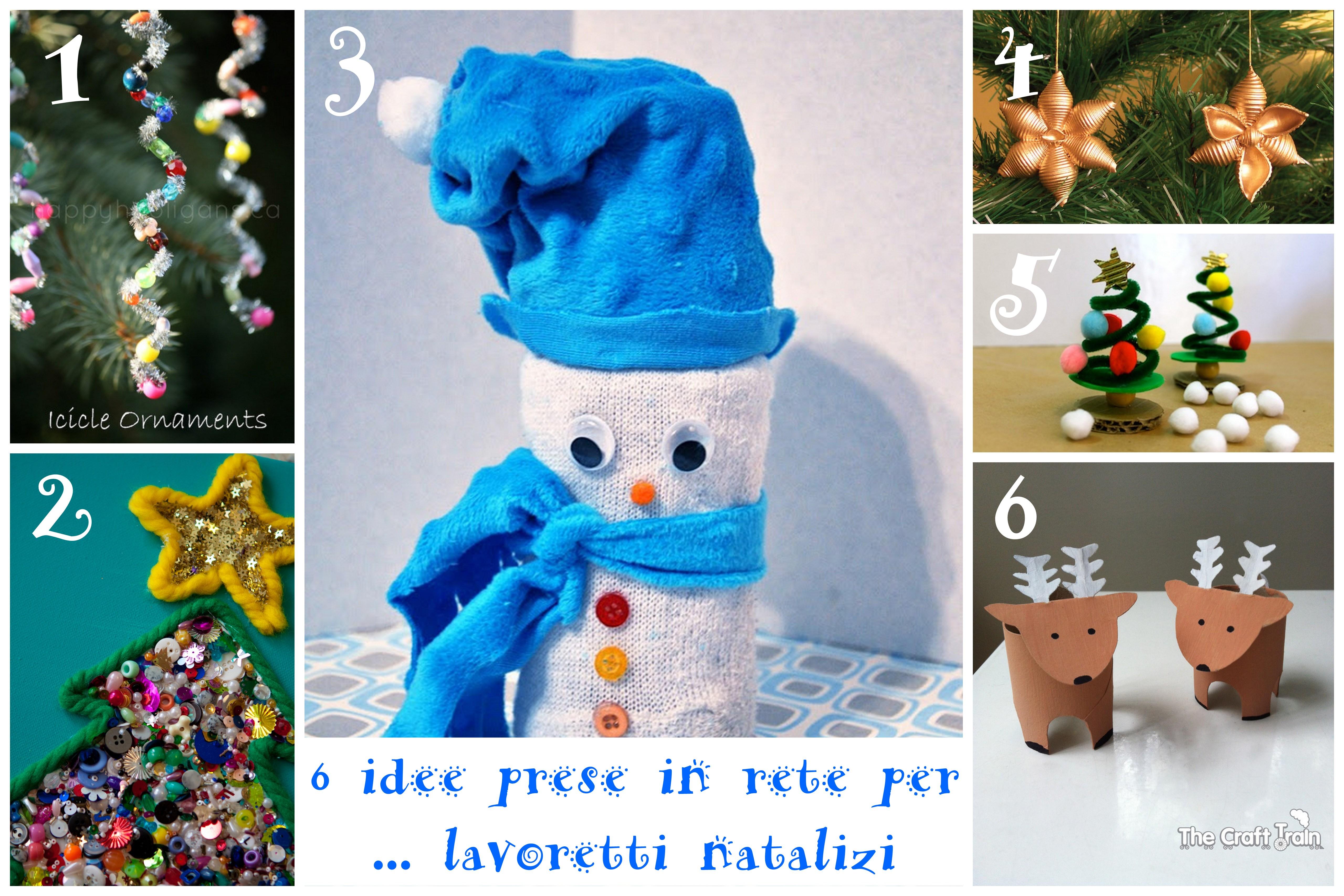 Idee Creative Per Natale 6 idee prese in rete per… lavoretti natalizi per bambini