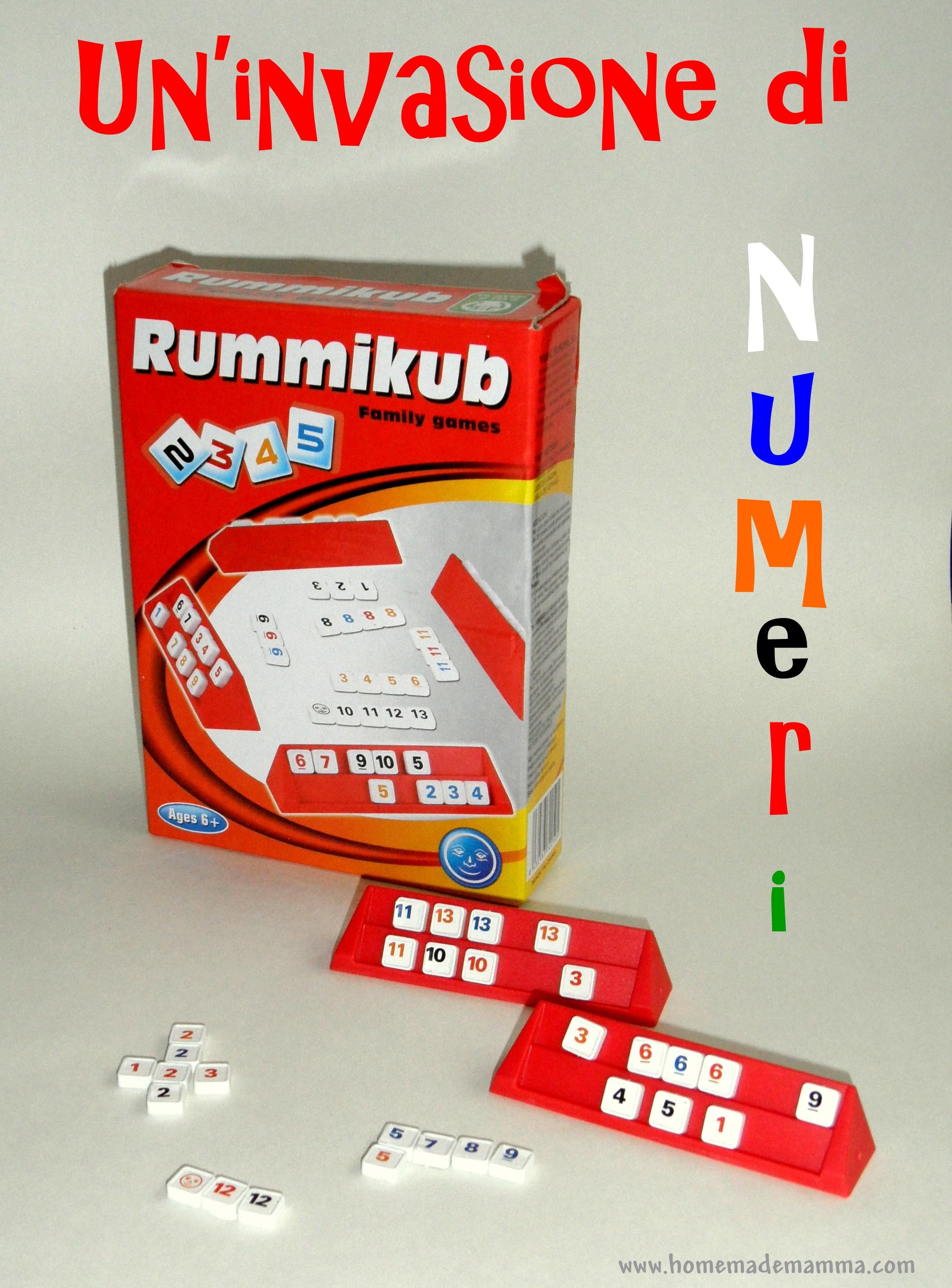 Favoloso Rummikub gioco da tavolo di matematica | RJ91