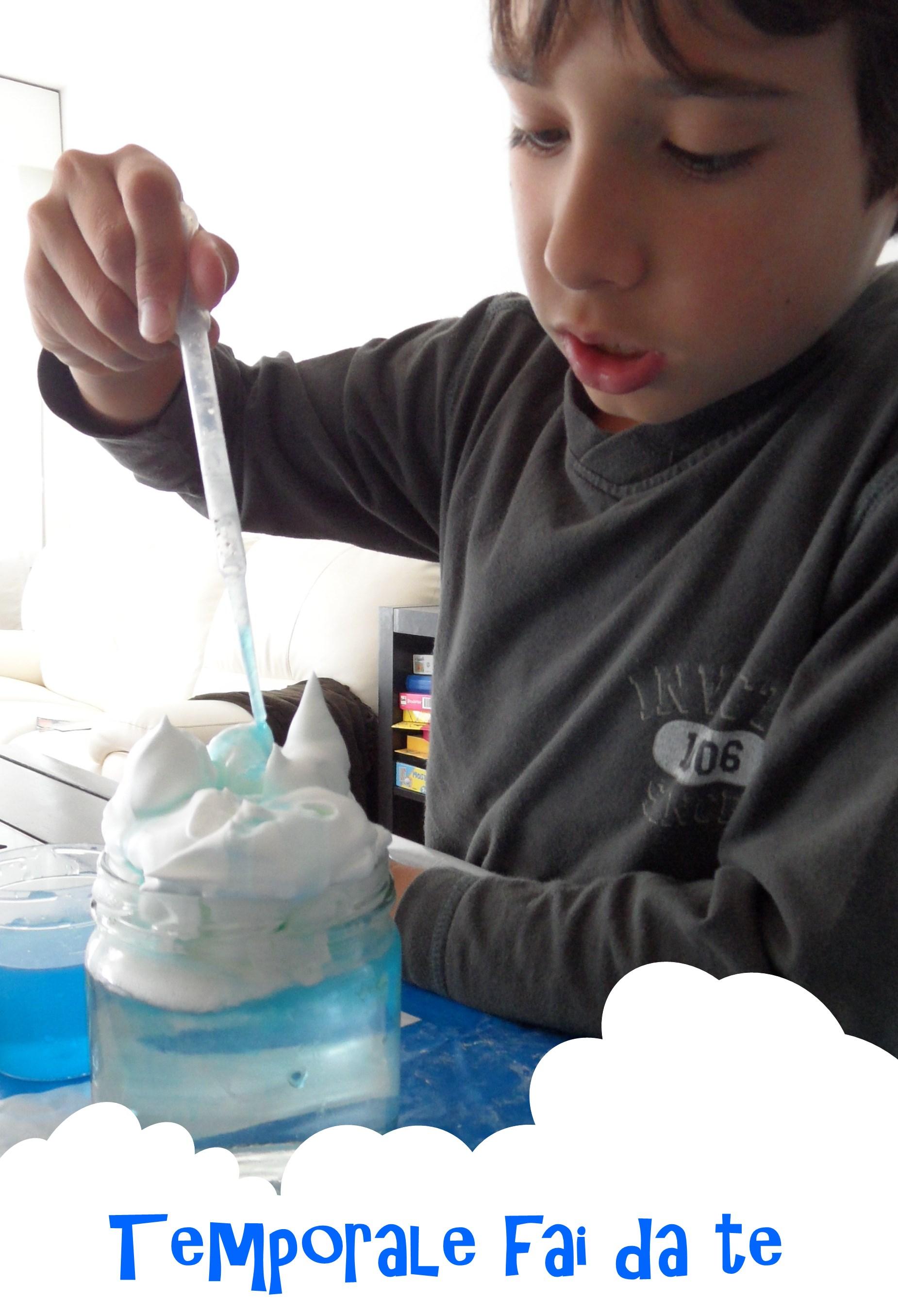 Favoloso Esperimenti scienfifici con i bambini: il ciclo dell'acqua | AA82