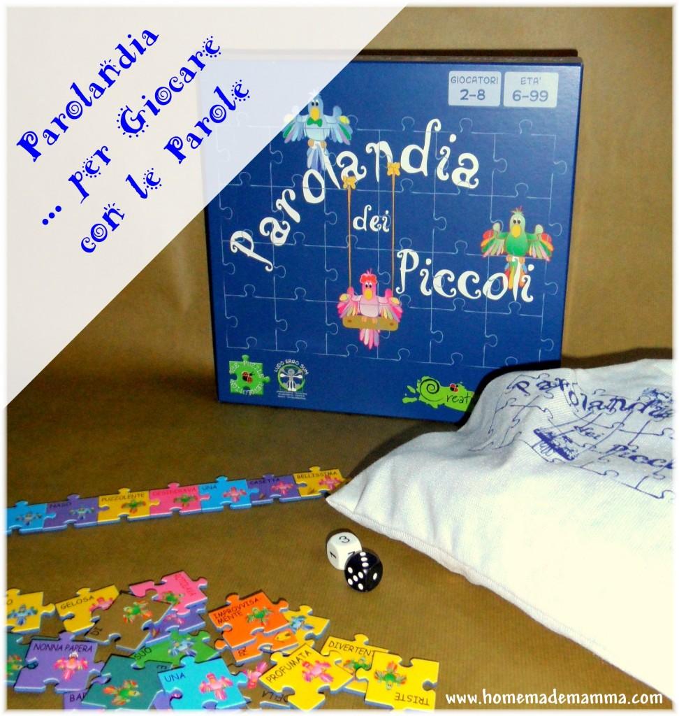 parolandia gioco società per bambini sulle parole