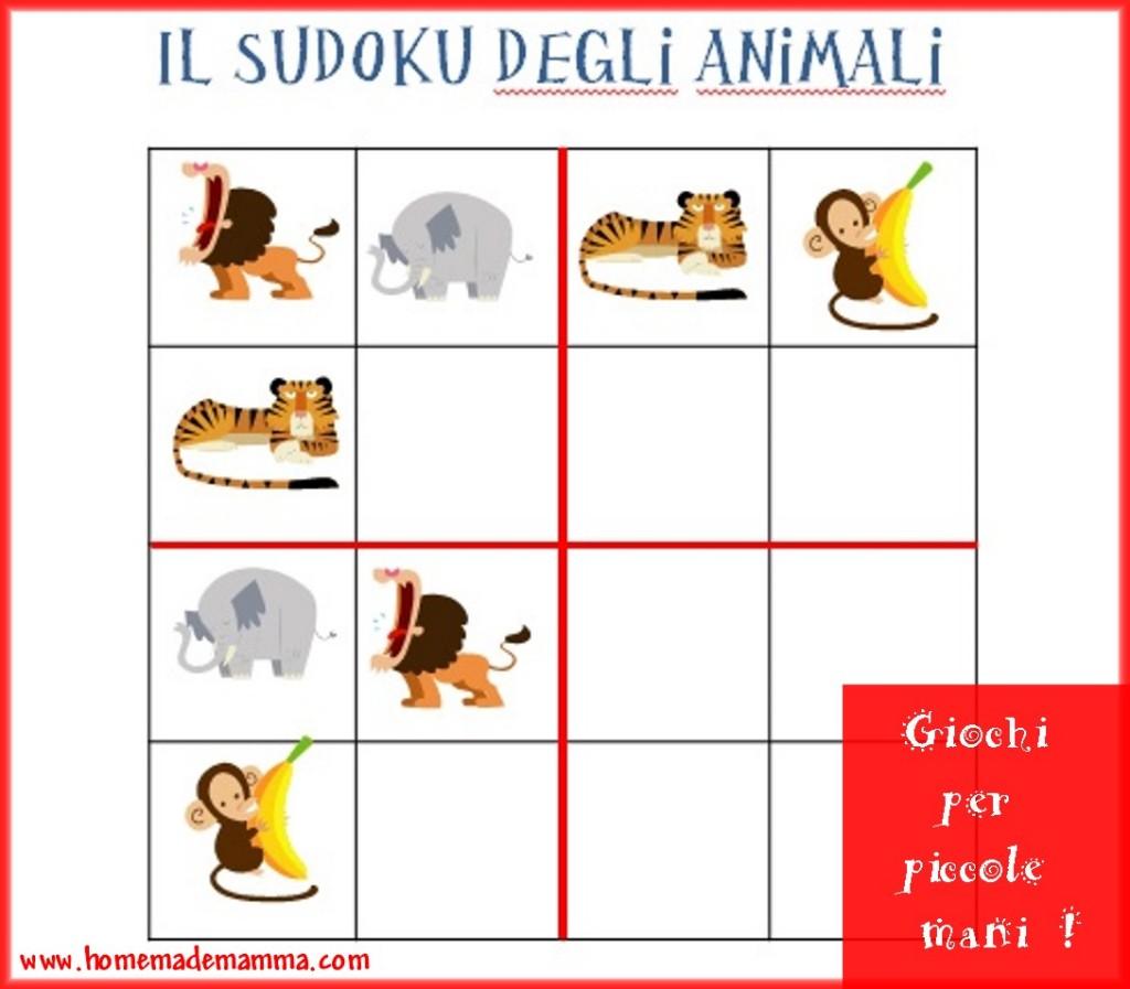 sudoku animali gratis