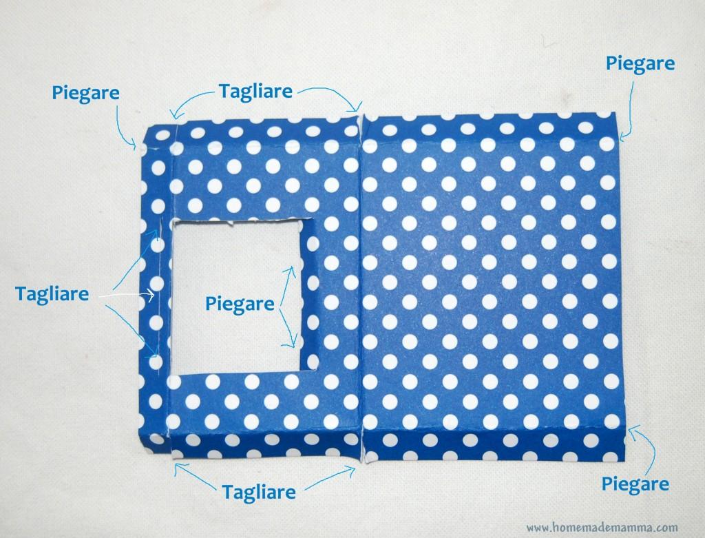 creare un tetrino con il cartone