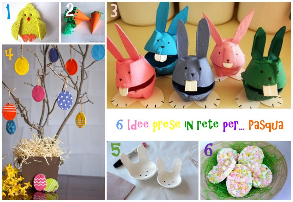 Lavoretti pasqua - Decorazioni uova pasquali per bambini ...