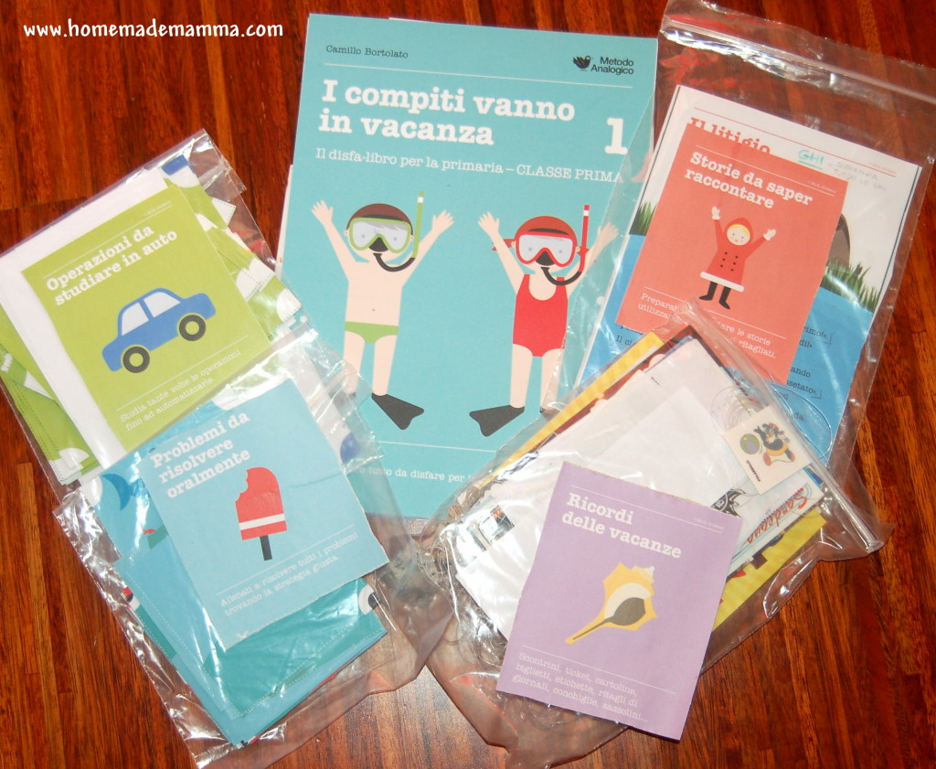 i compiti vanno in vacanza lo disfa-libro della Erickson