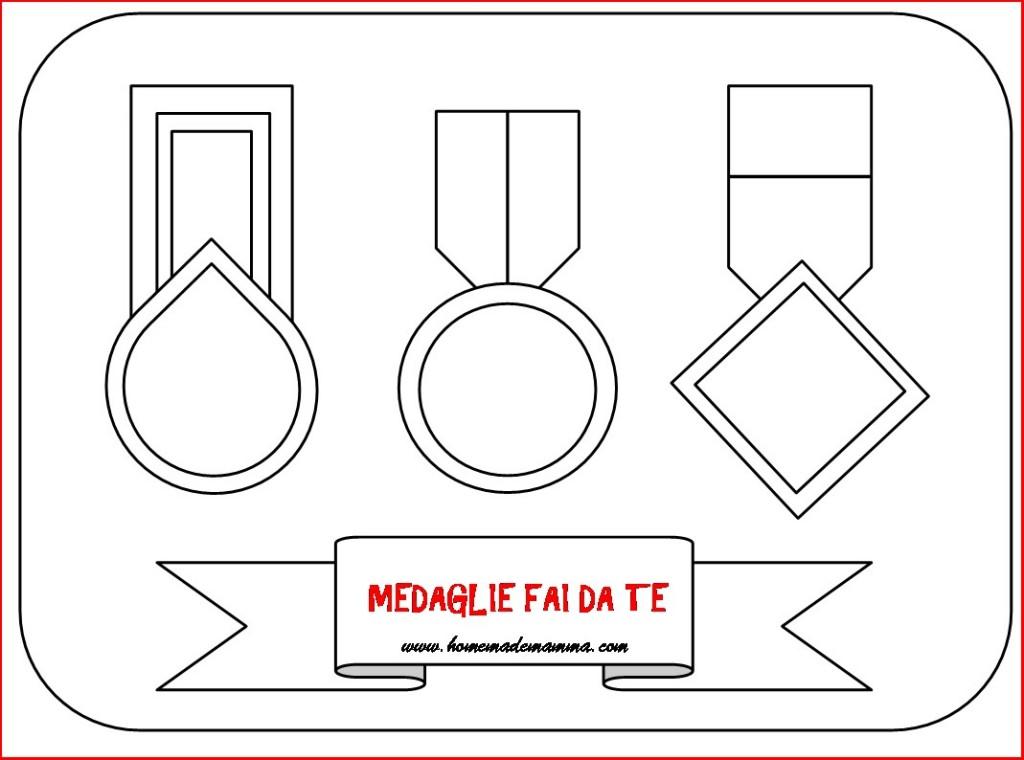 medaglie fai da te da stampare gratis