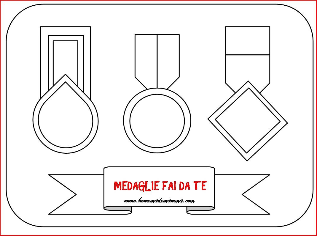 Medaglie fai da te per ogni occasione - Uovo modello da stampare ...