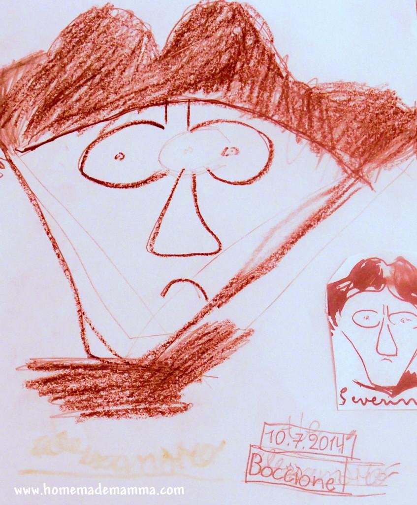 arte di boccioni per bambini