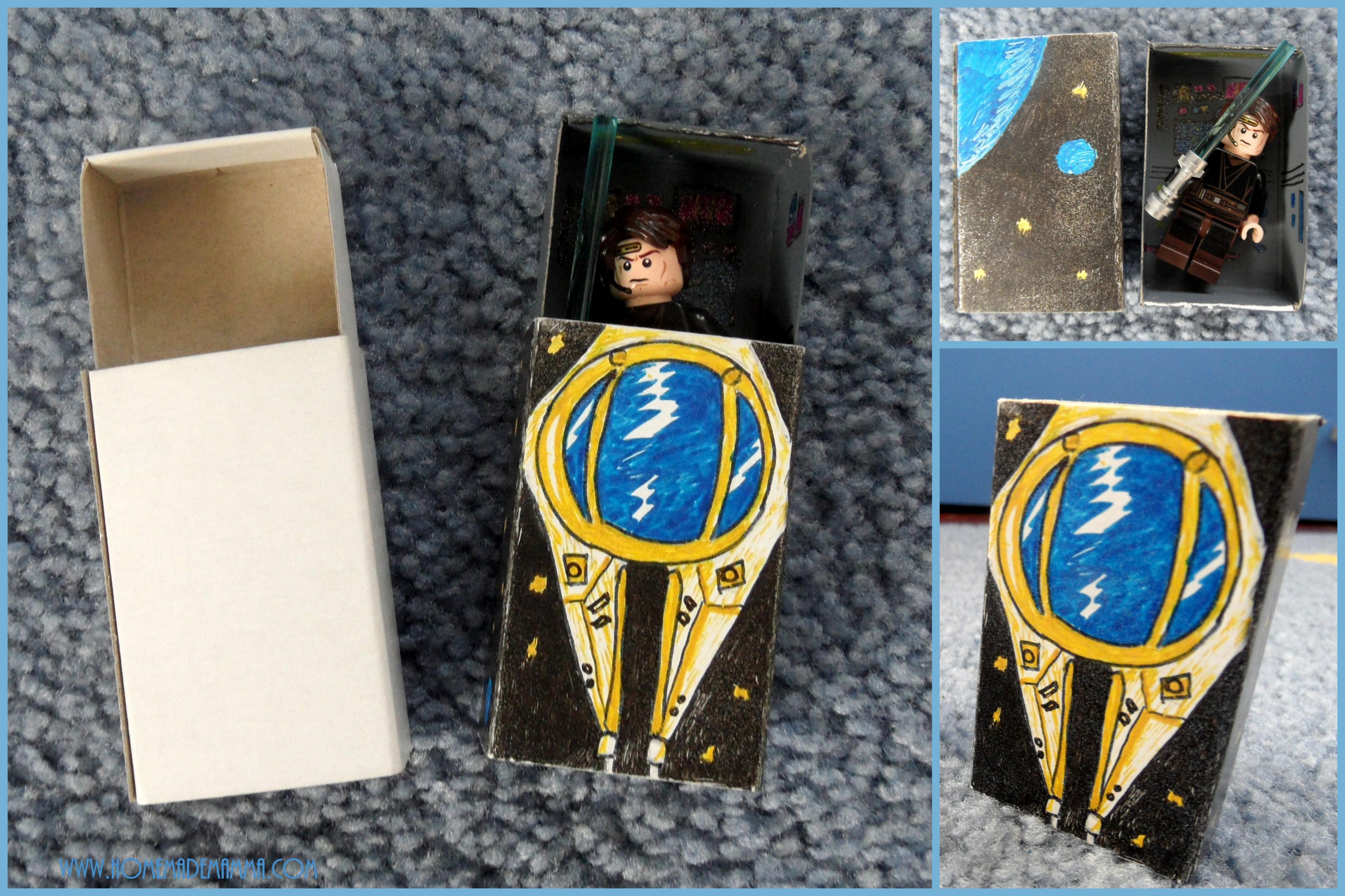astronave omini lego scatola tutorial