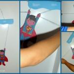 Esperimenti scientifici per i bambini: la marionetta di superman