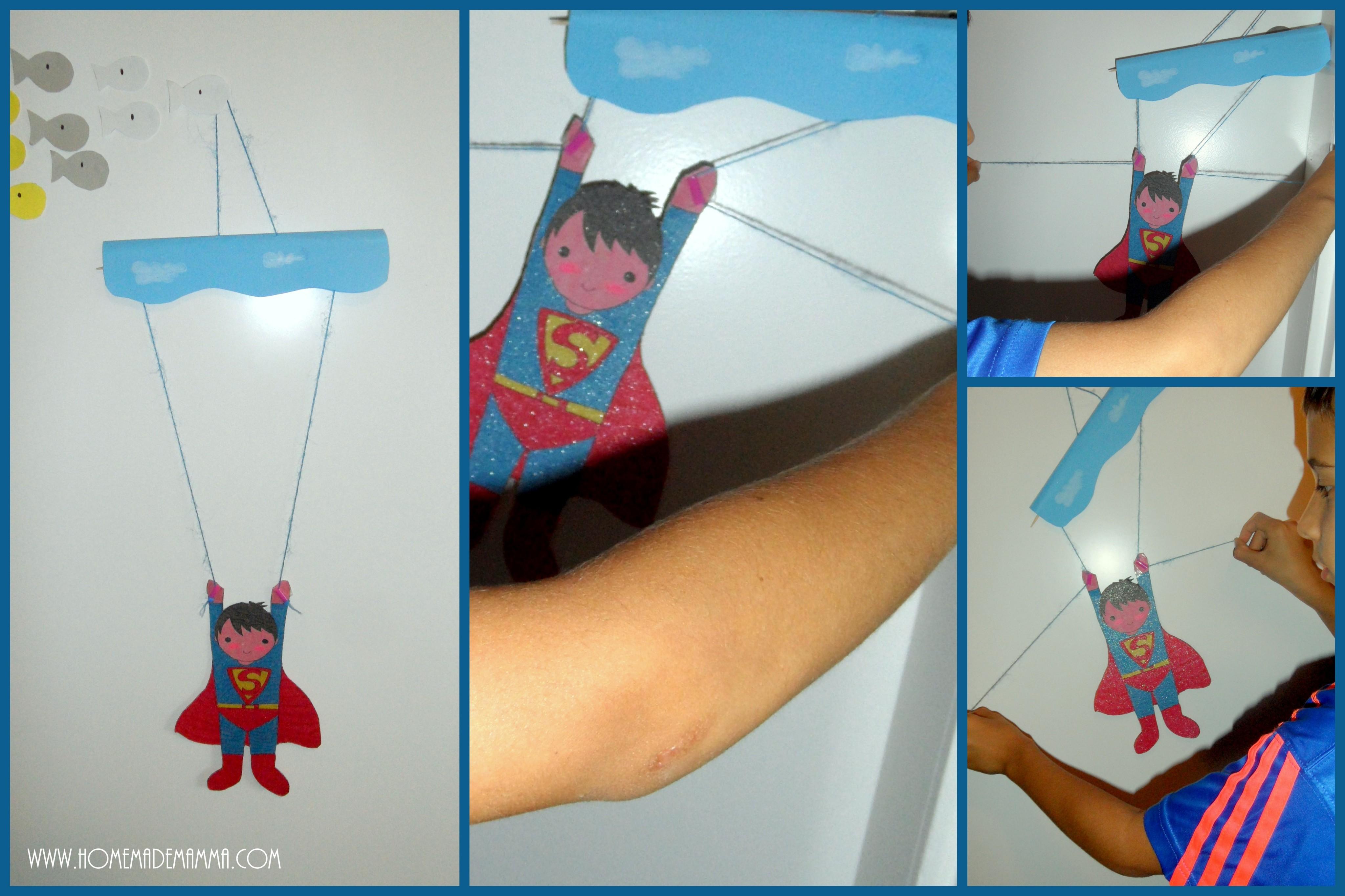 superman marionetta movimenti