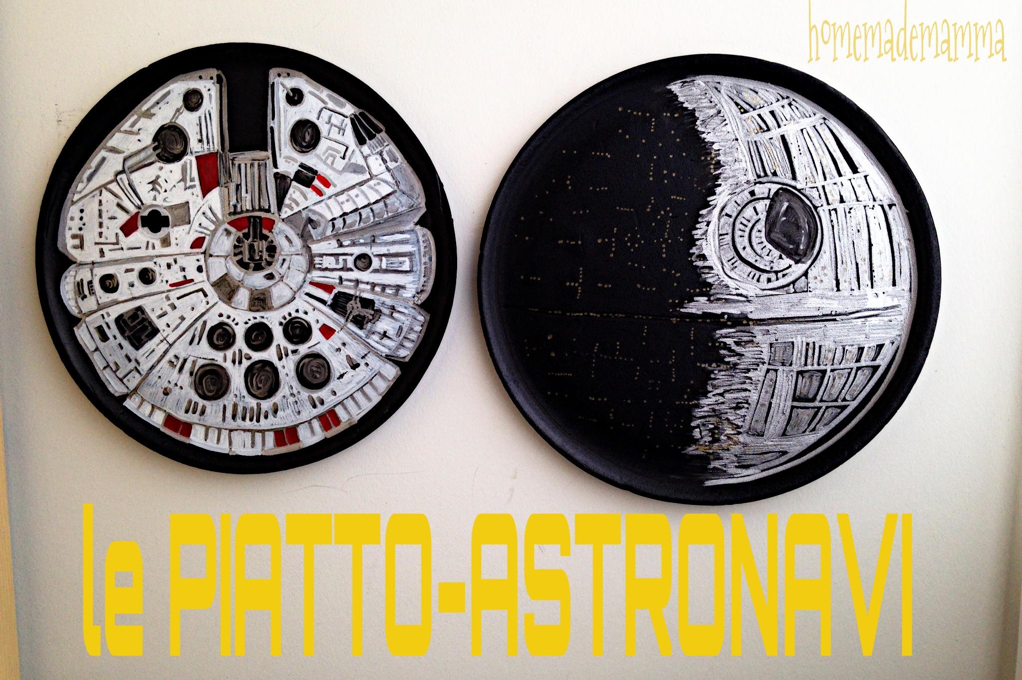 tutorial da piatti ad astronavi star wars