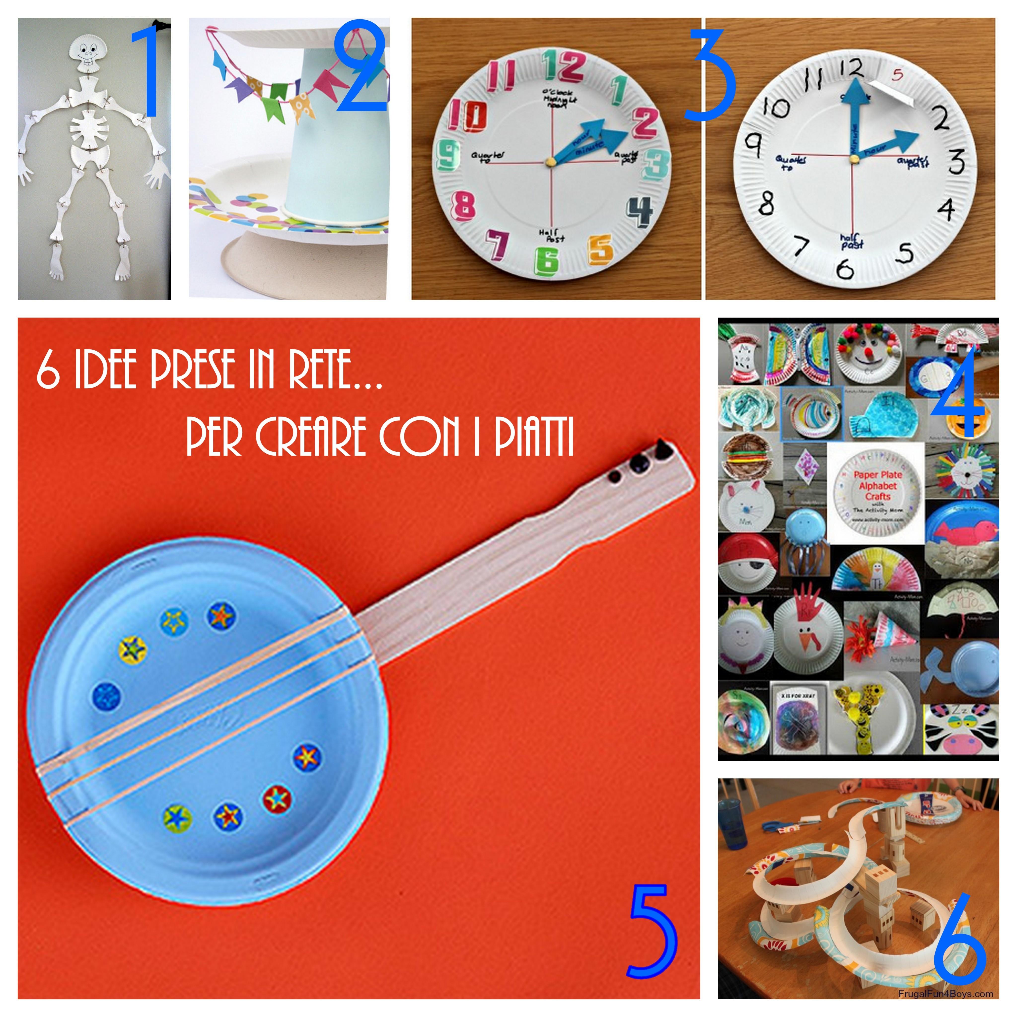 Amato 6 idee prese in rete per creare con i piatti di carta | PF23