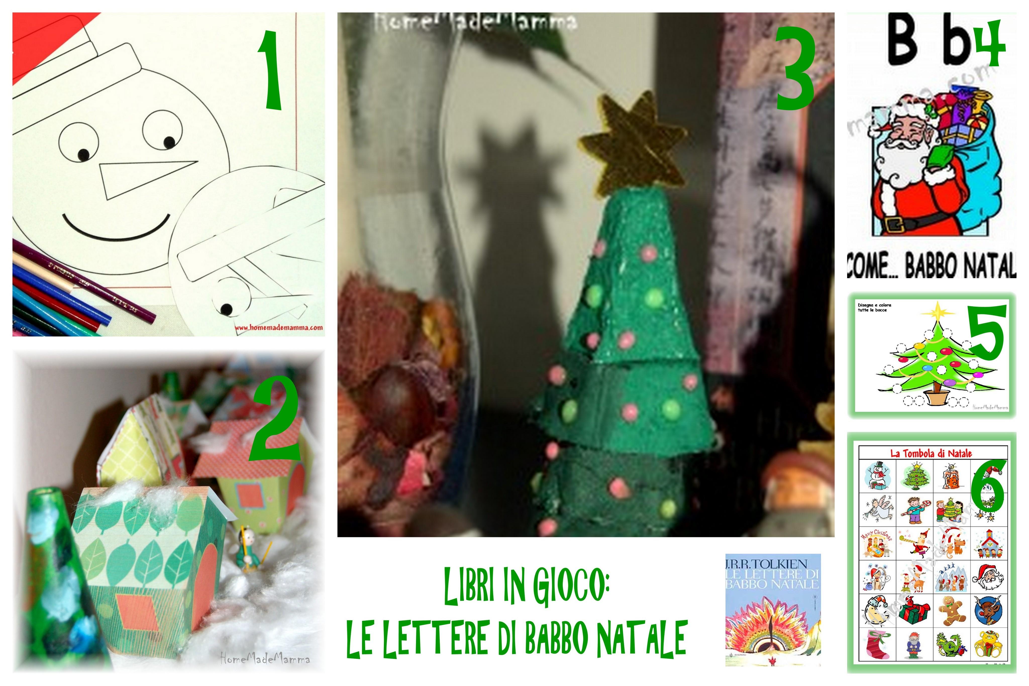 LIBRI IN GIOCO attivitä e giochi sulle orme del libro Lettere di Babbo Natale