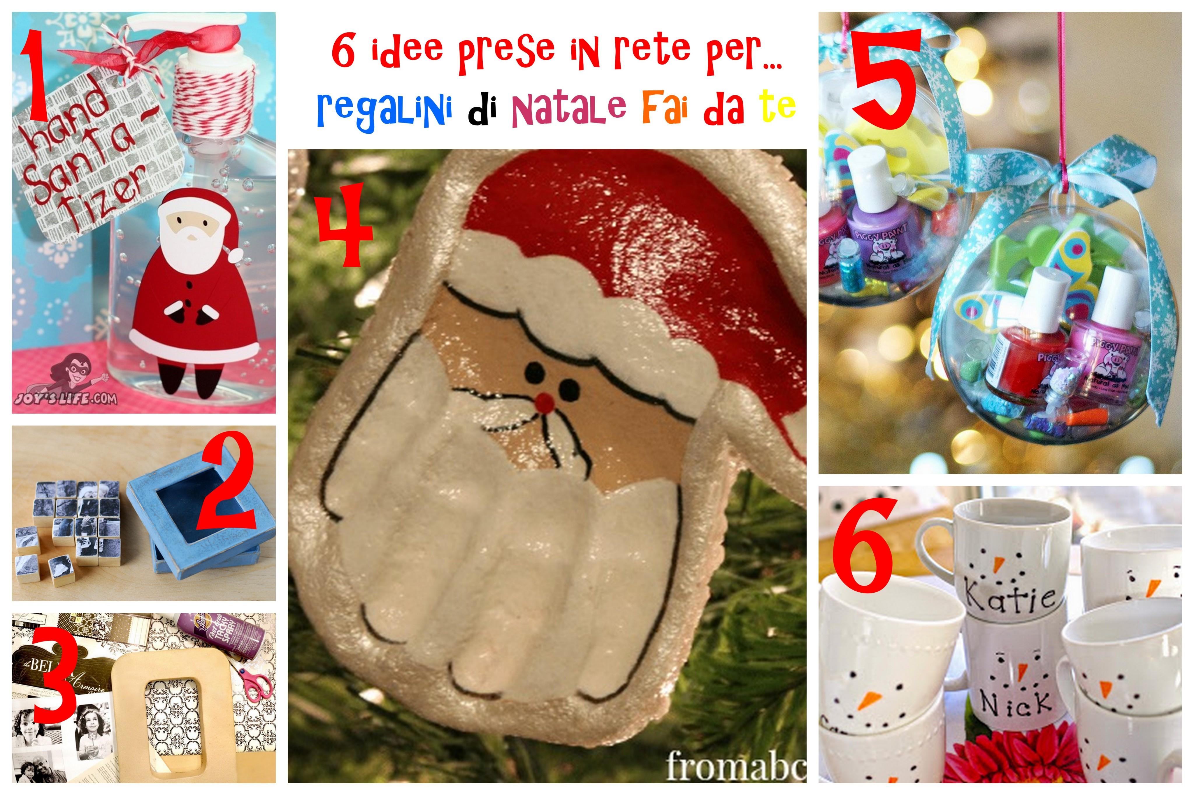 6idee per regali di Natale fai da te