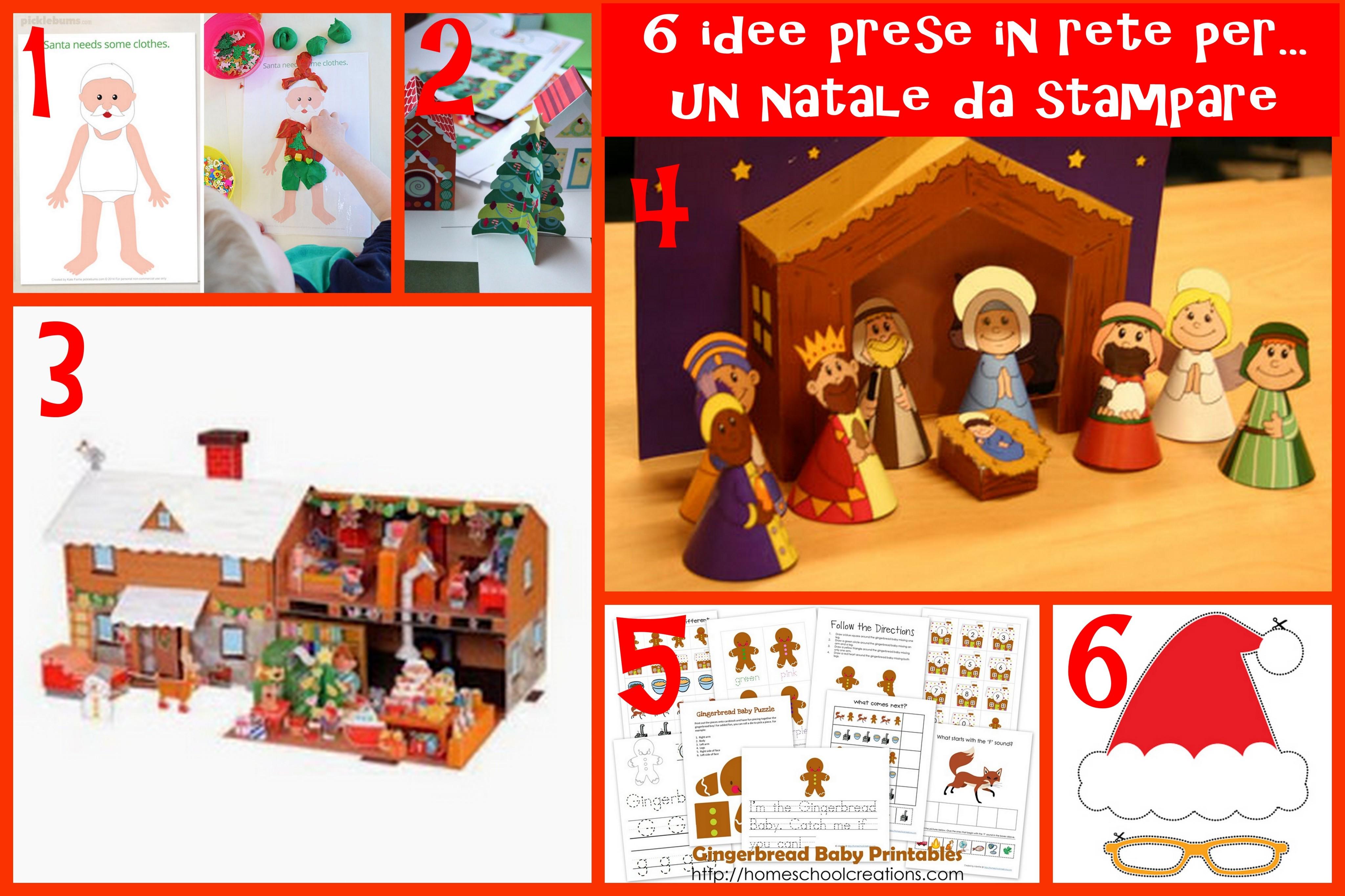 Favoloso Attività Natale Bambini | - Part 2 ZD53