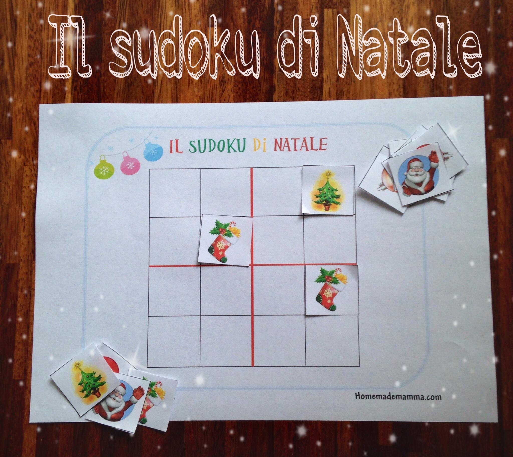 il sudoku di Natale da scaricare gratis