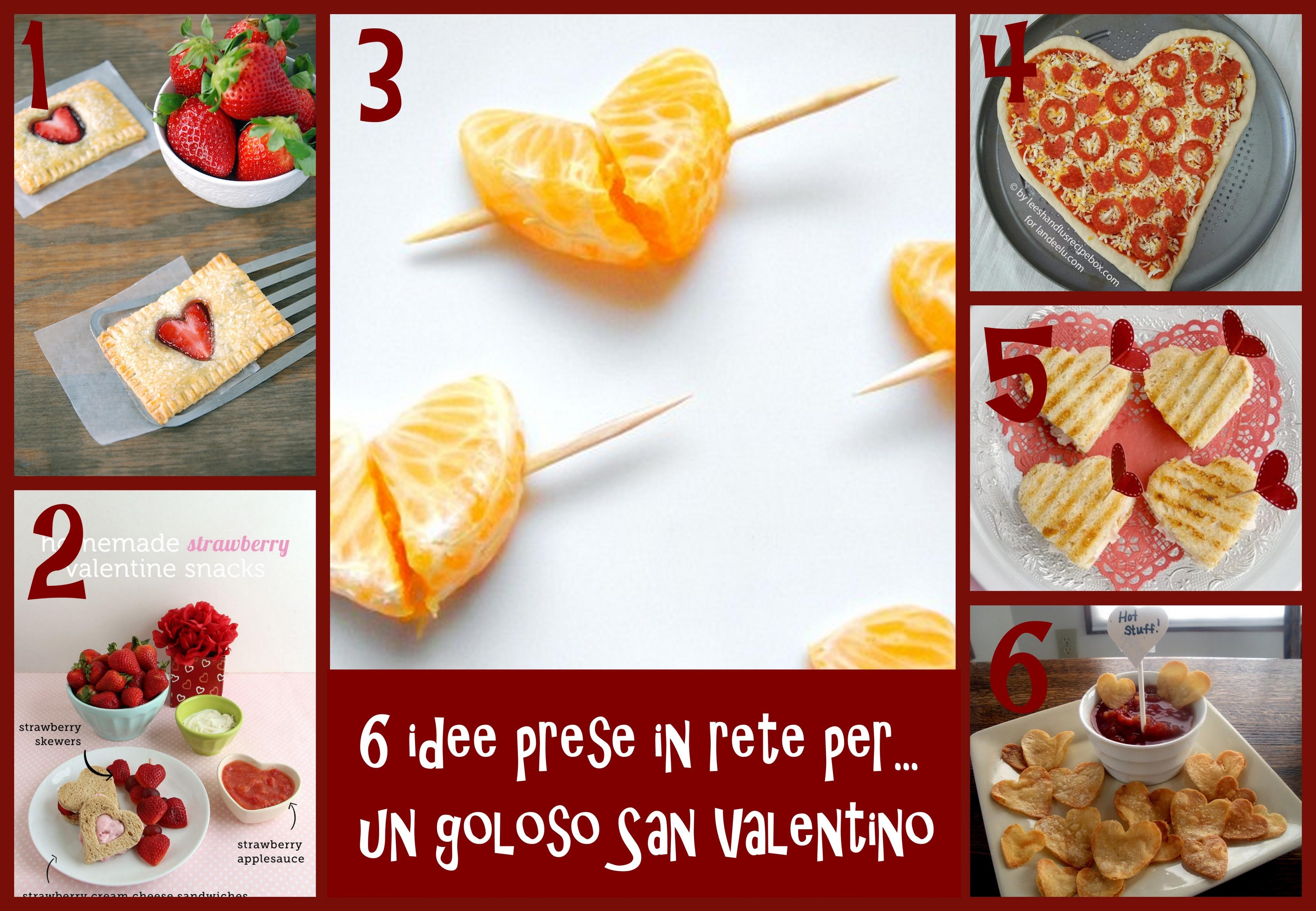 idee menu goloso e veloce per san valentino