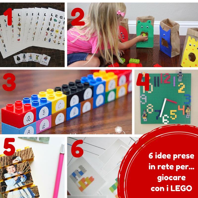 tante idee per giocare con i LEGO