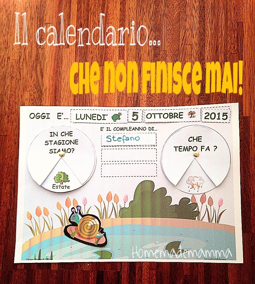 calendario perenen da stampare