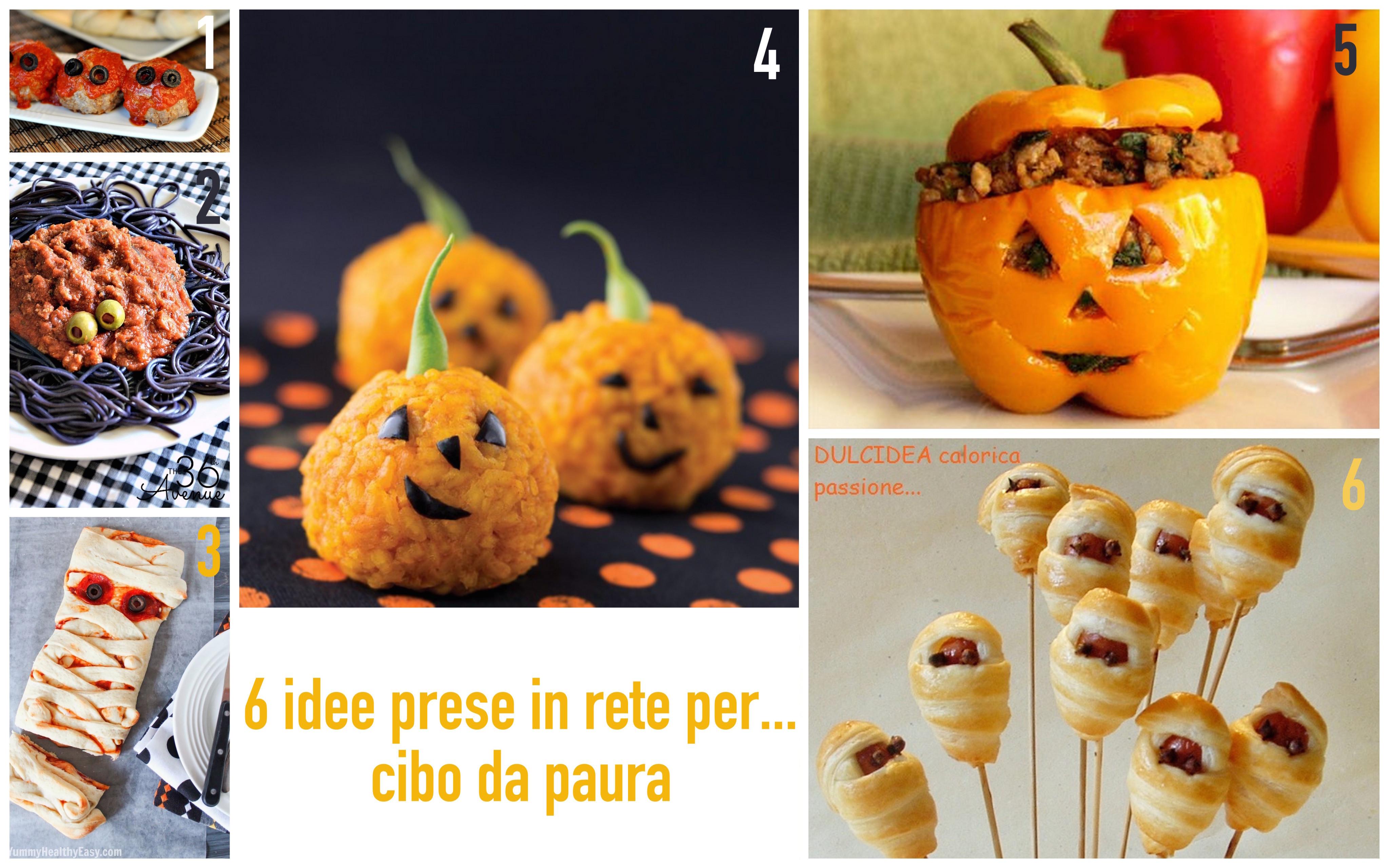 idee per cibo halloween facile