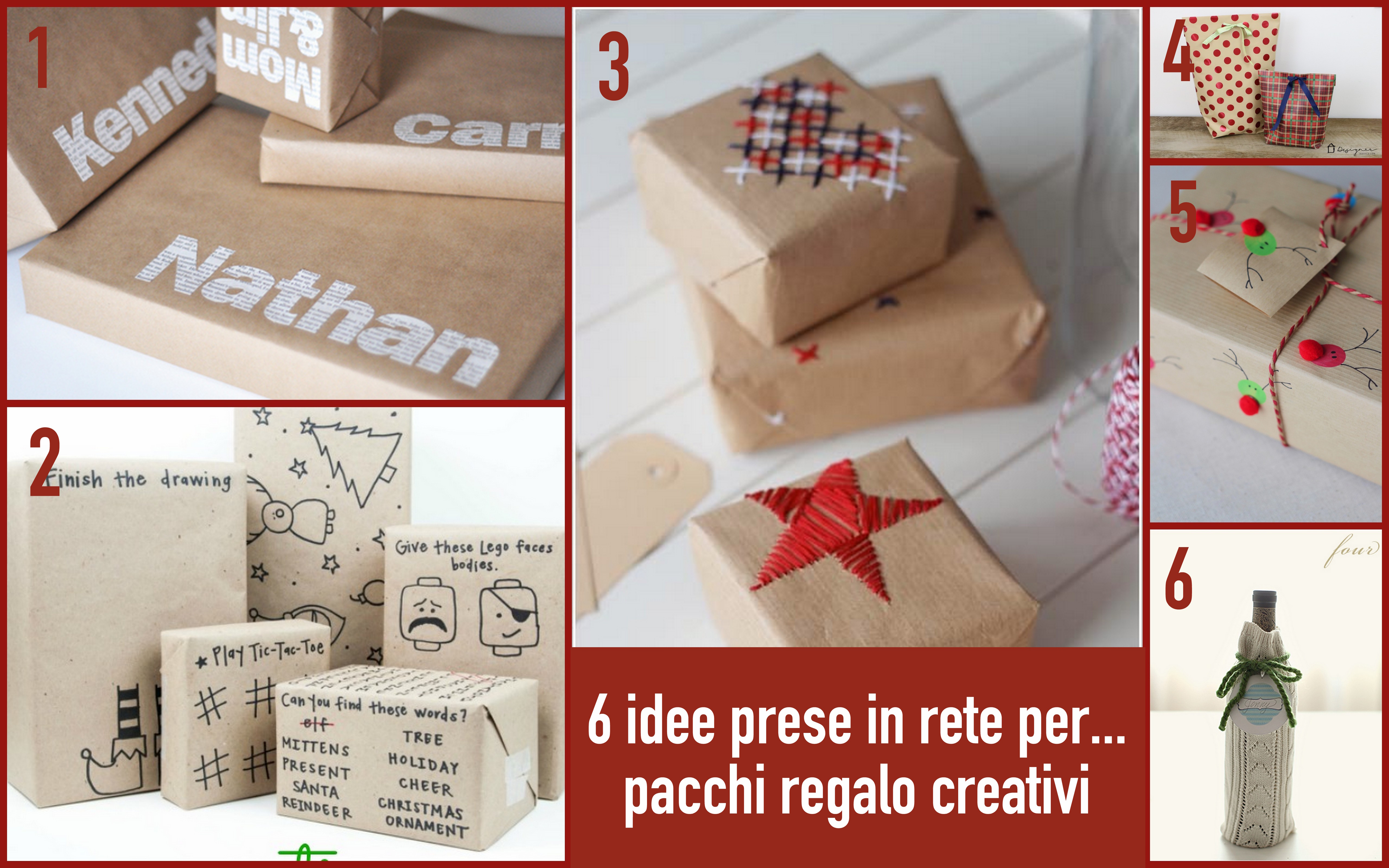 idee per creare pacchi regalo originali