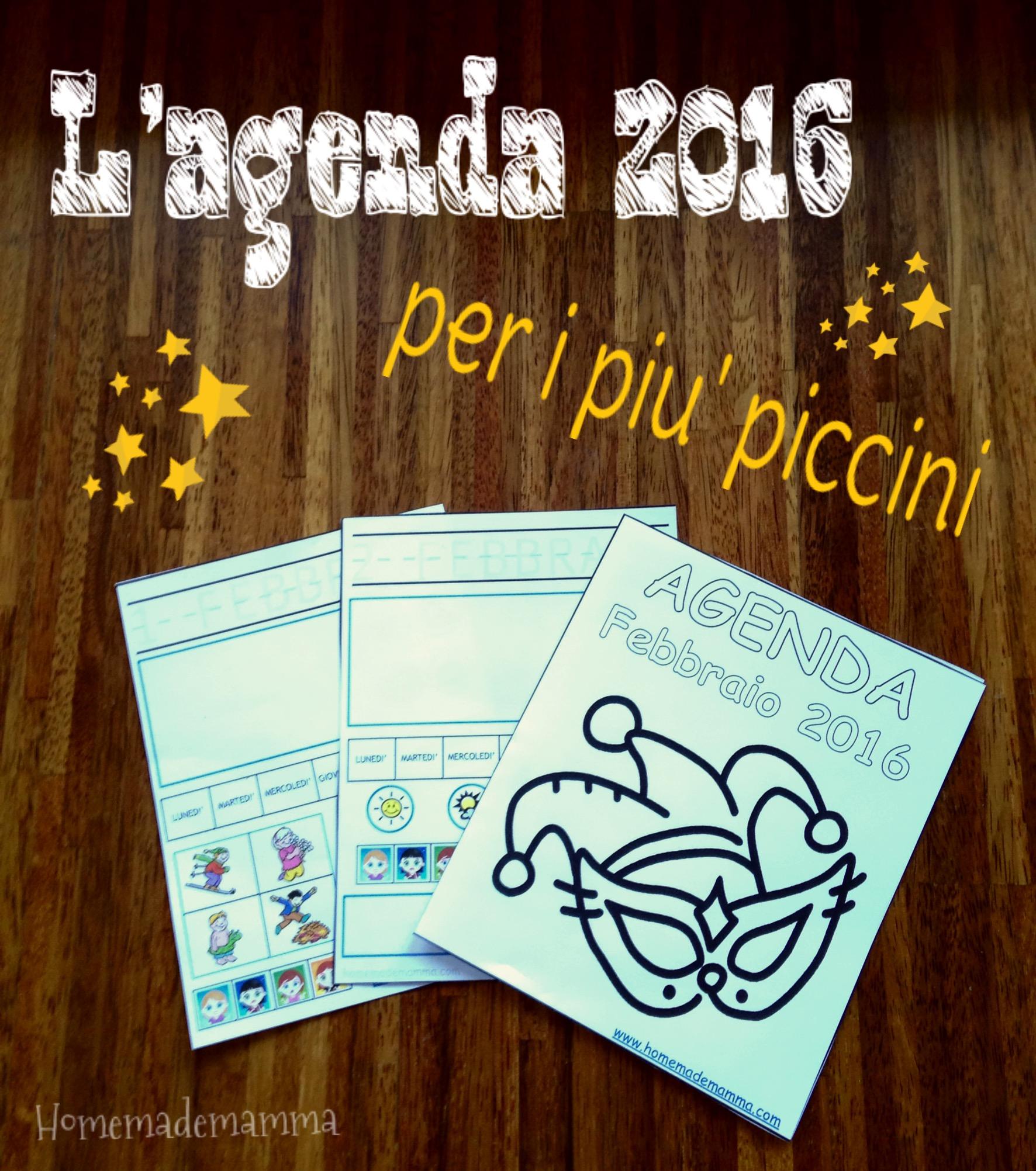 diario febbraio 2016 per bambini stampare gratis