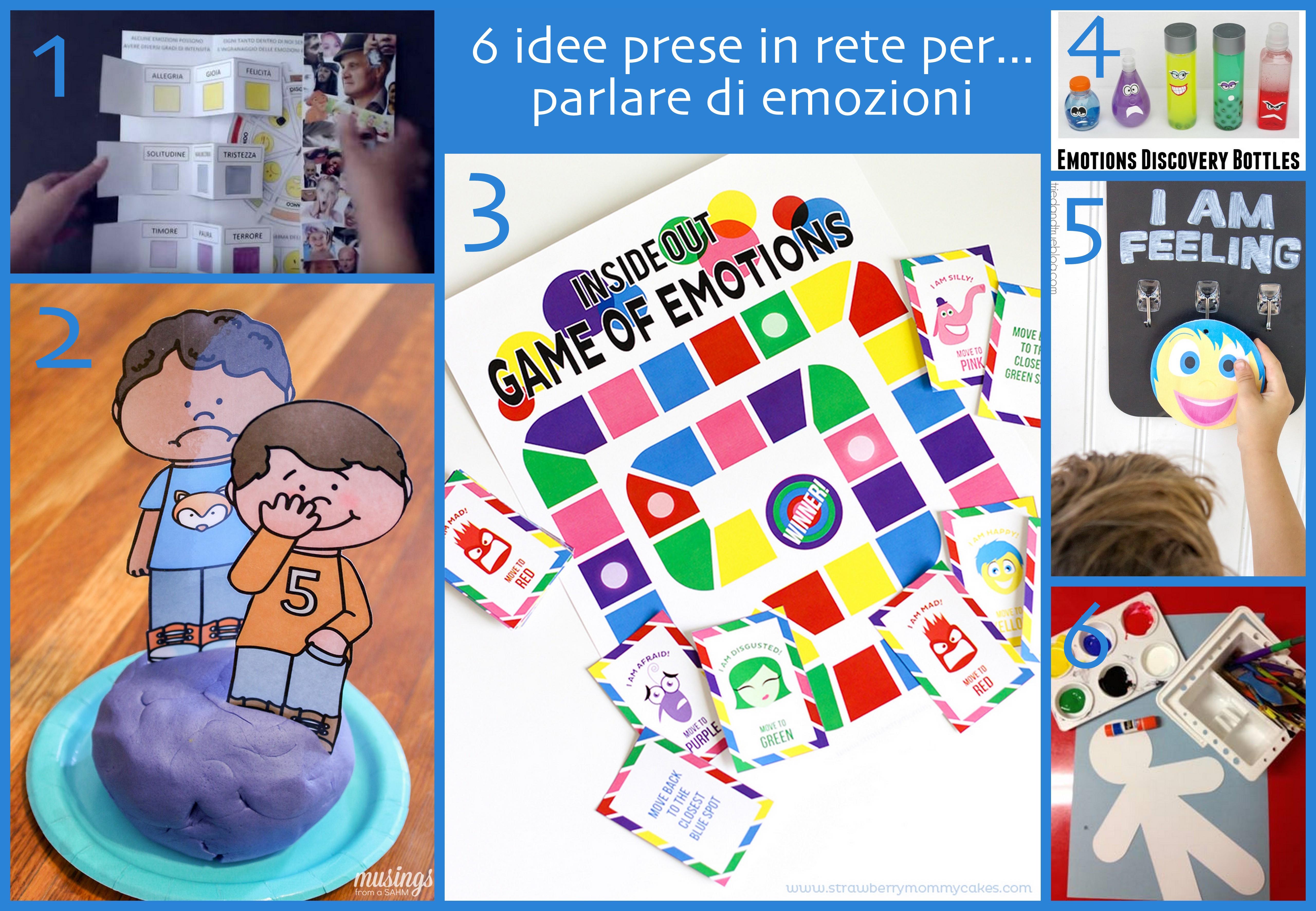 idee per attività emozioni bambini