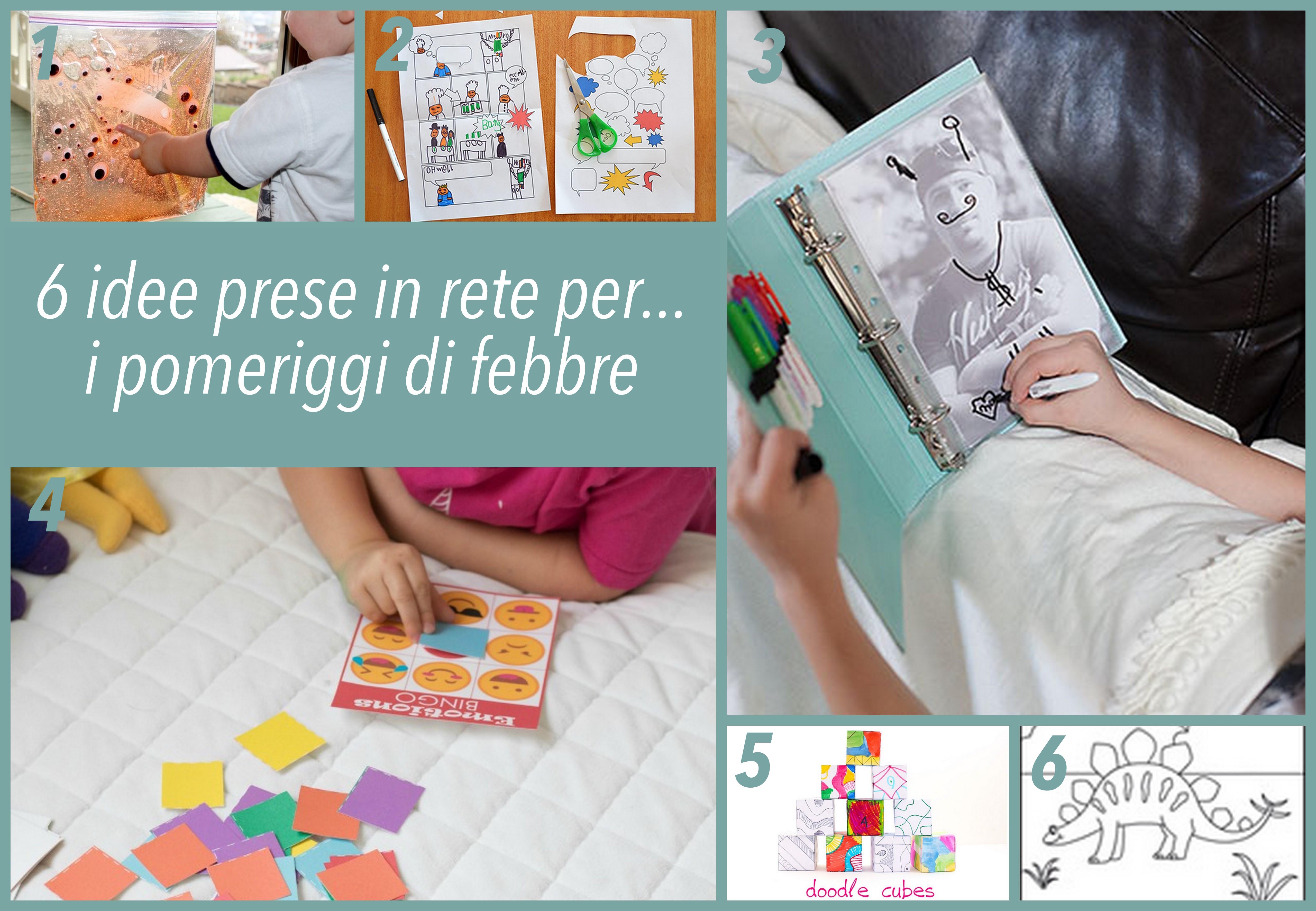 idee per attività bambini malati