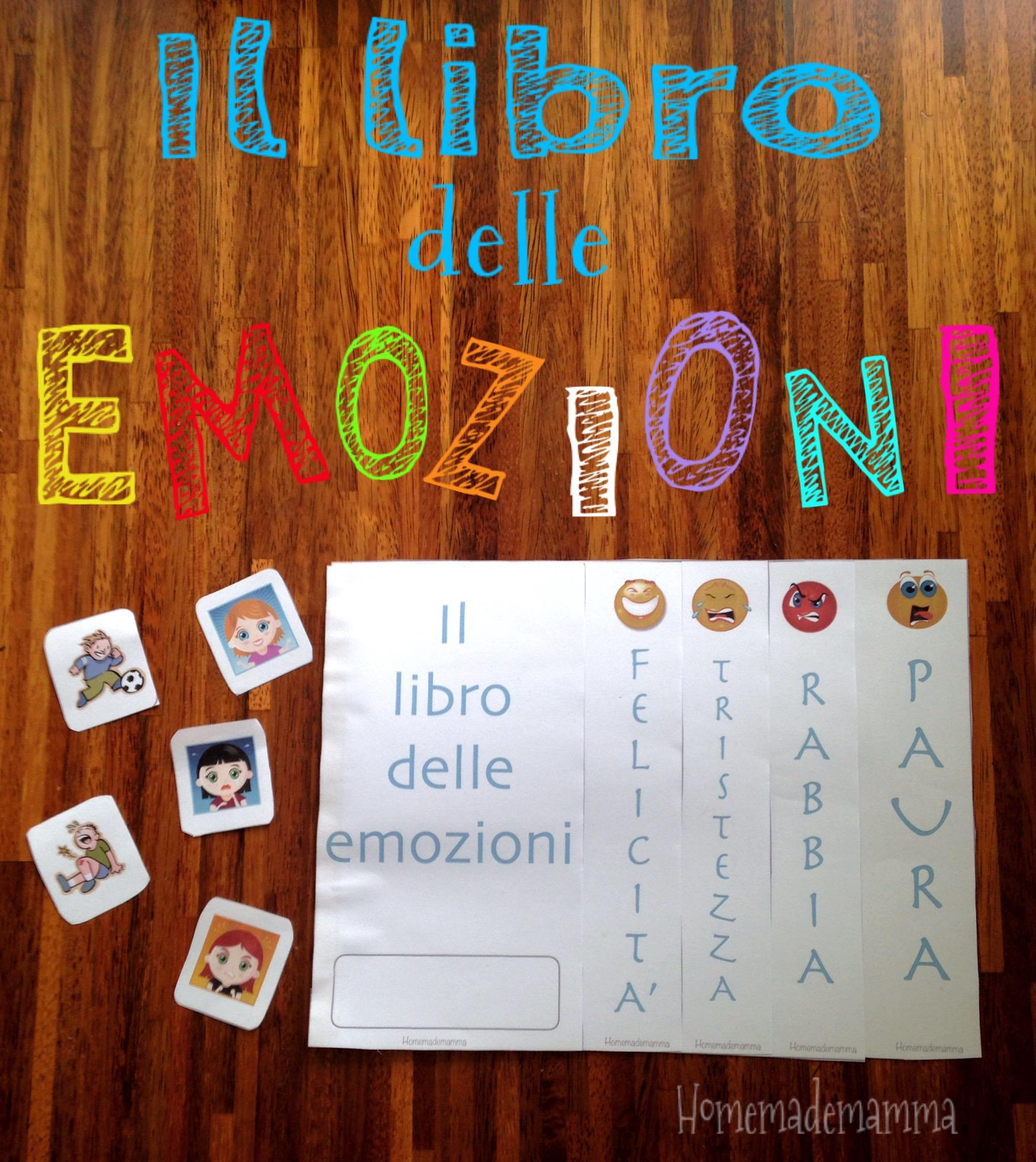 libro emozioni da stampare