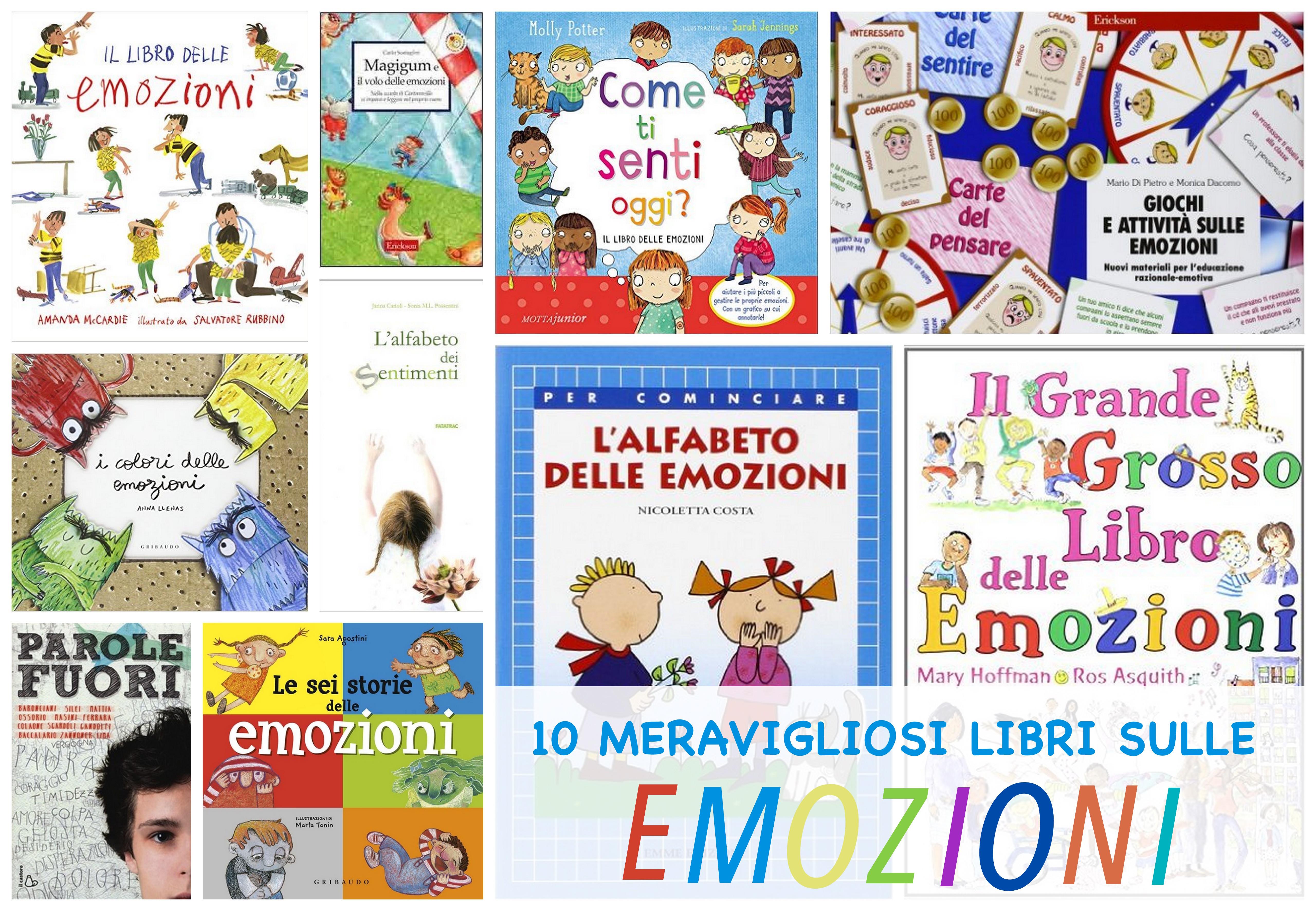 10 libri SULLEEMOZIONI