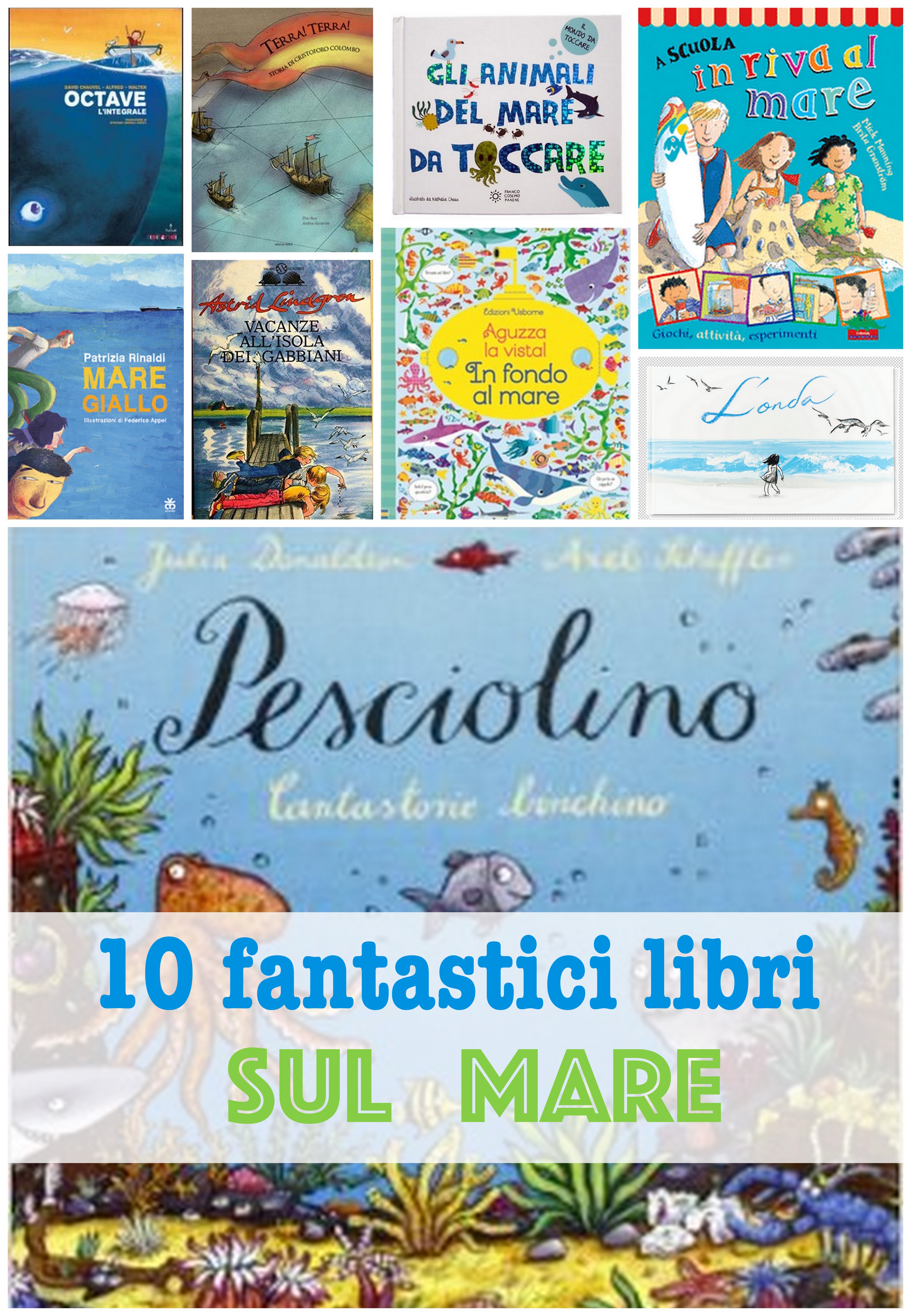 Foto Divertenti Bambini Al Mare 10 libri sul… mare