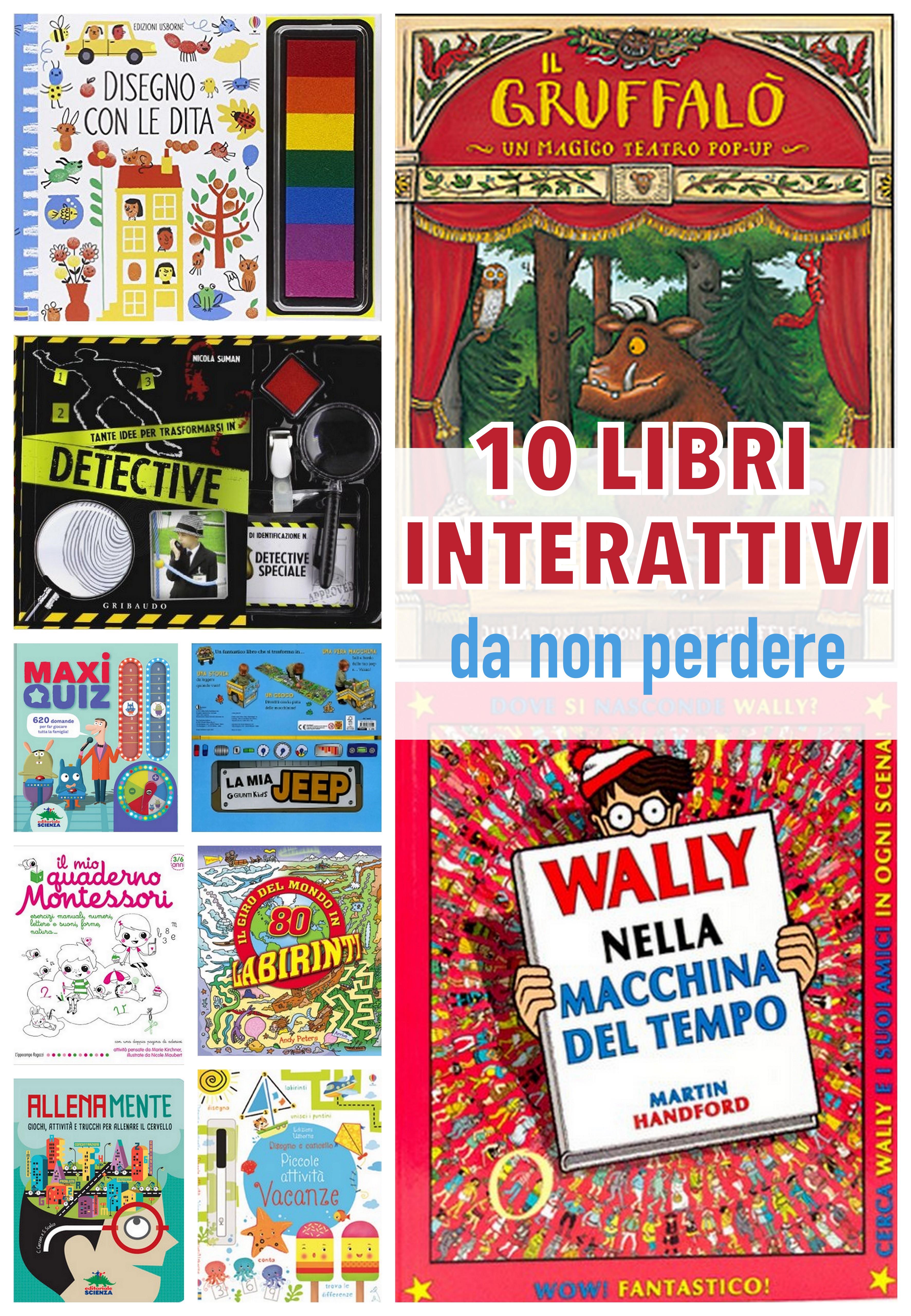 10 libri interattivi per bambini