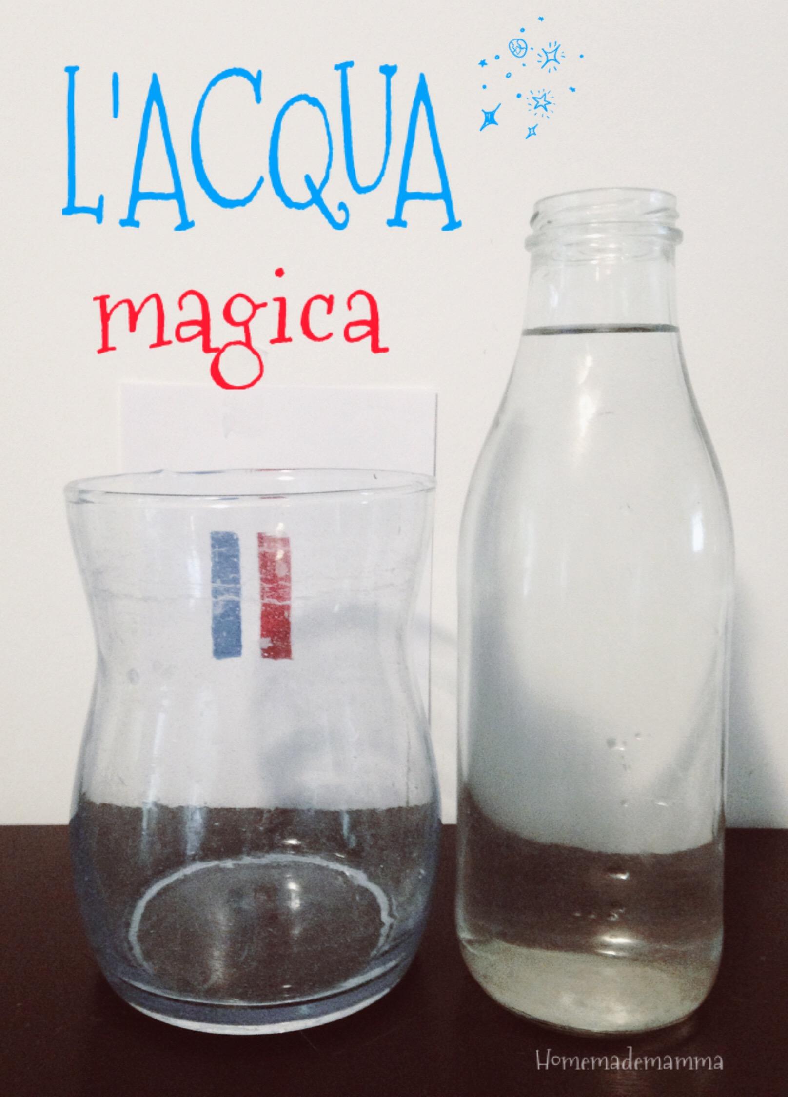 Preferenza Esperimenti scientifici con i bambini: l'acqua magica | WX71
