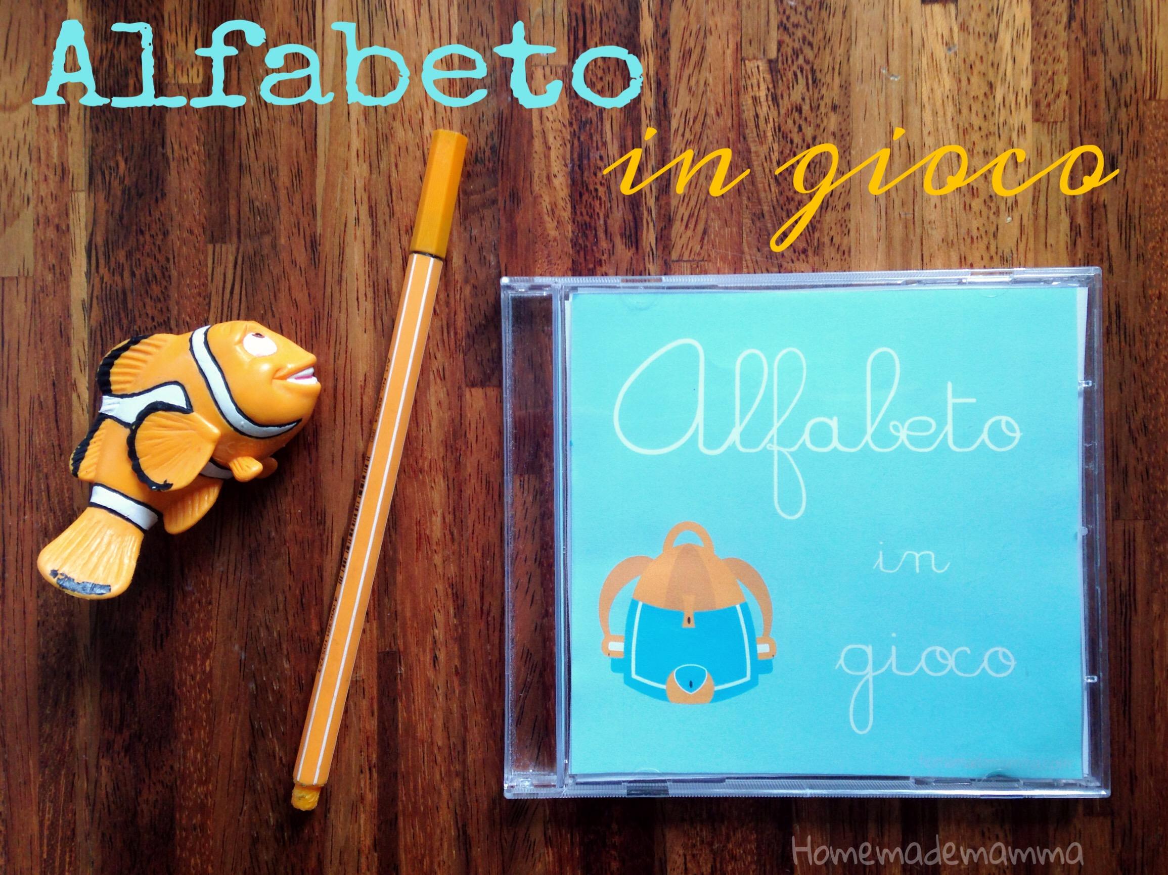 Schede alfabeto stile montessori