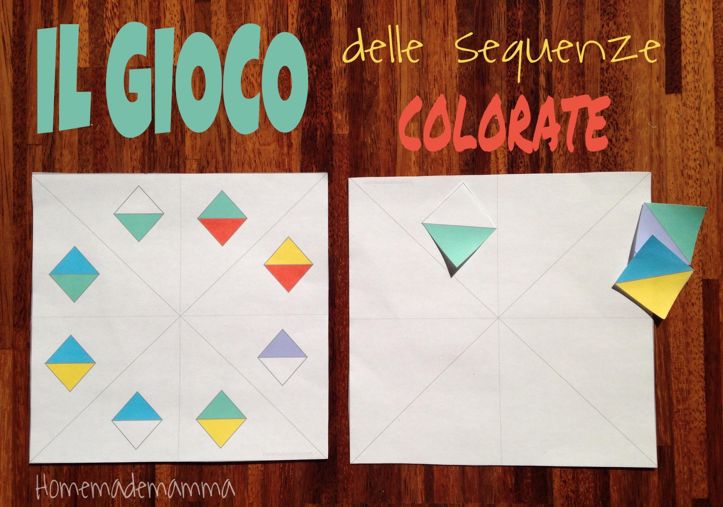 Il gioco delle sequenze colorate