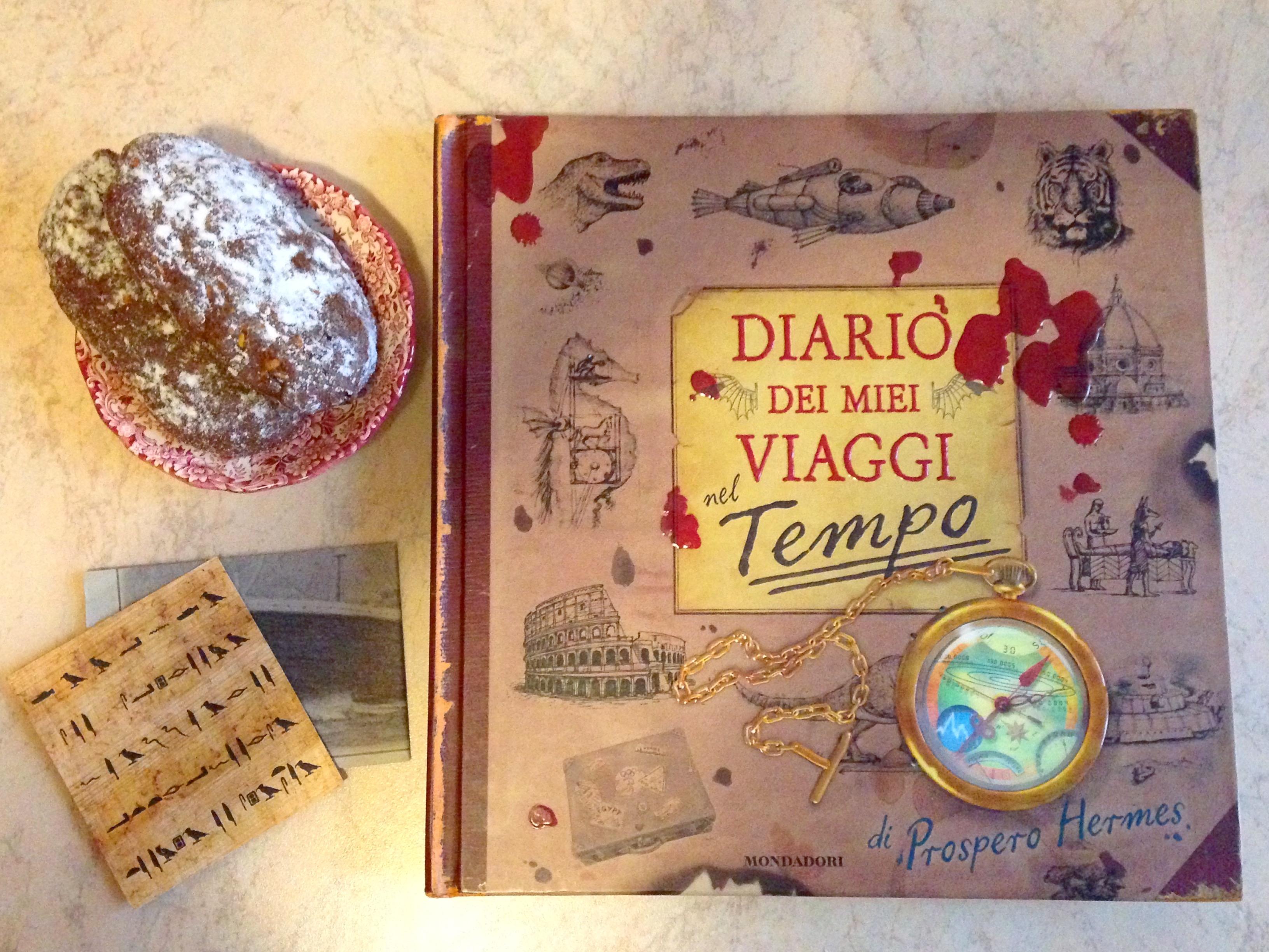 Diario dei miei viaggi nel tempo libri storia bambini