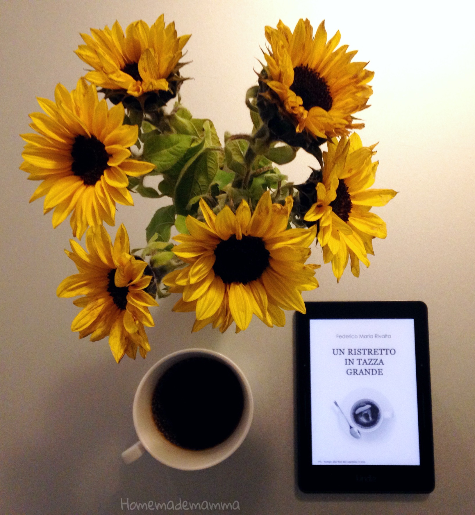 Venerdi' del libro: recensione di Un ristretto in tazza grande di Federico Maria Rivalta