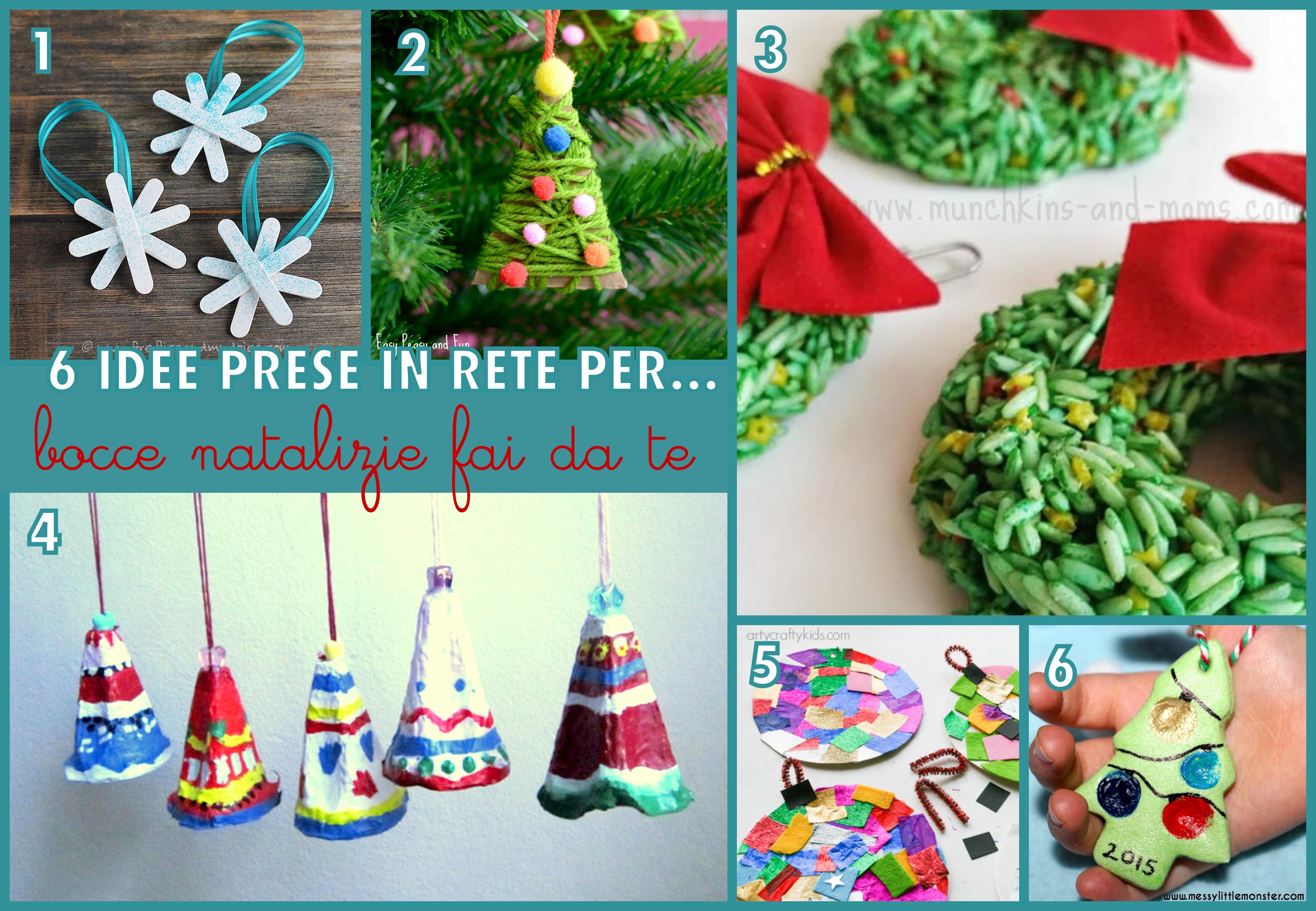 Idee Creative Per Natale decorazioni natale fai da te |
