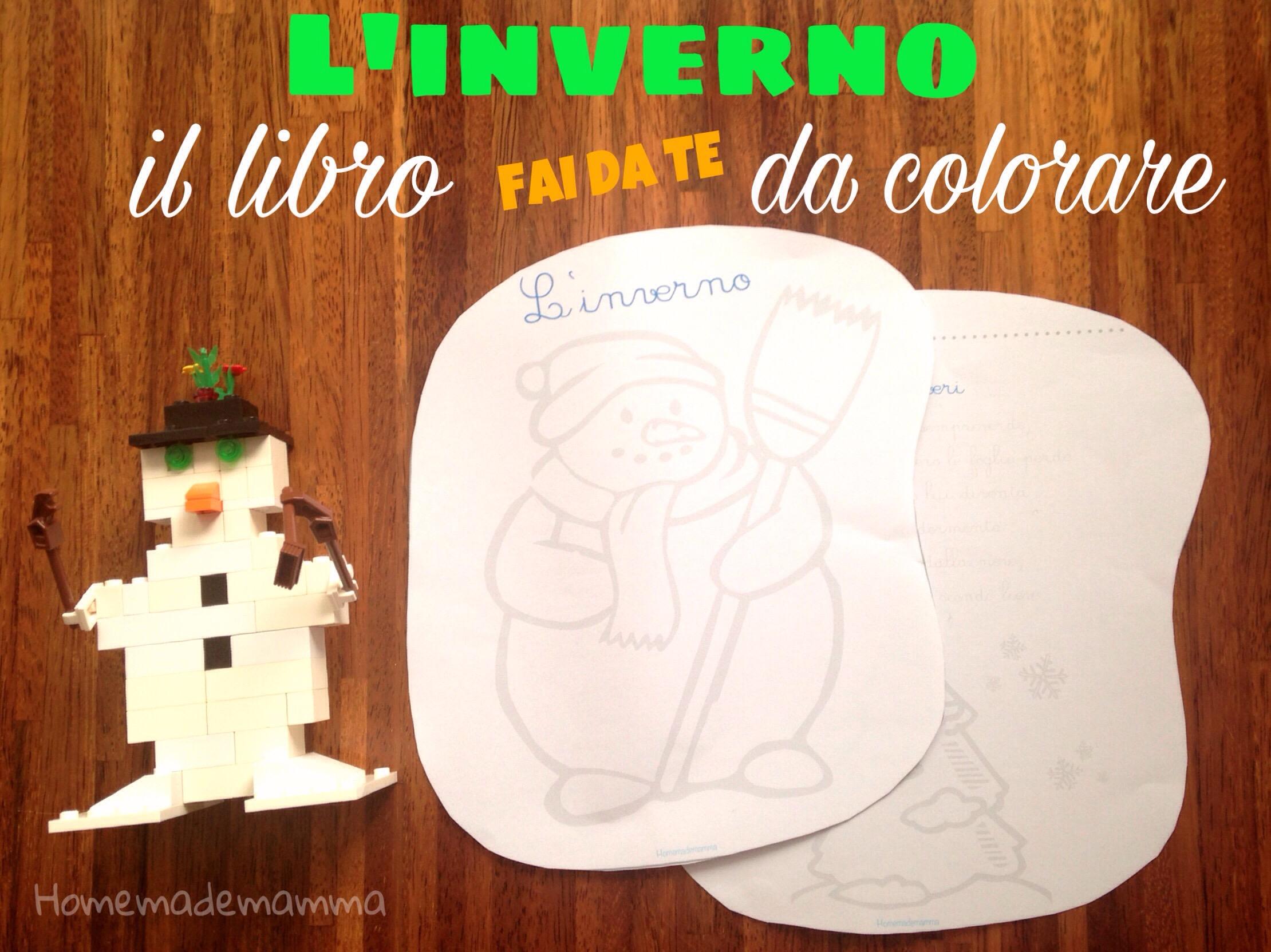 libro inverno filastrocche da colorare homemademamma
