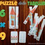I puzzle delle tabelline