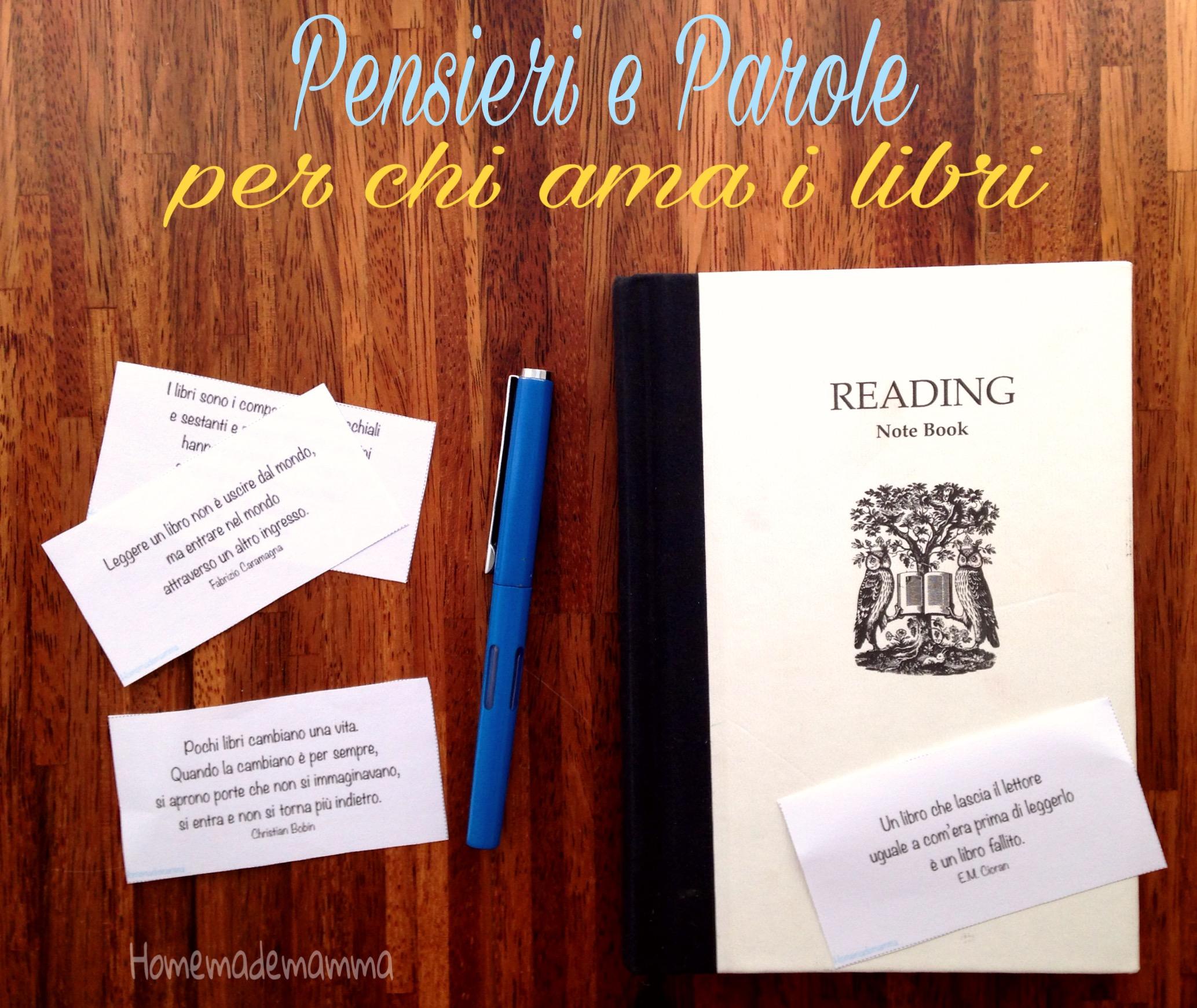 frasi celebri sui libri e la lettur