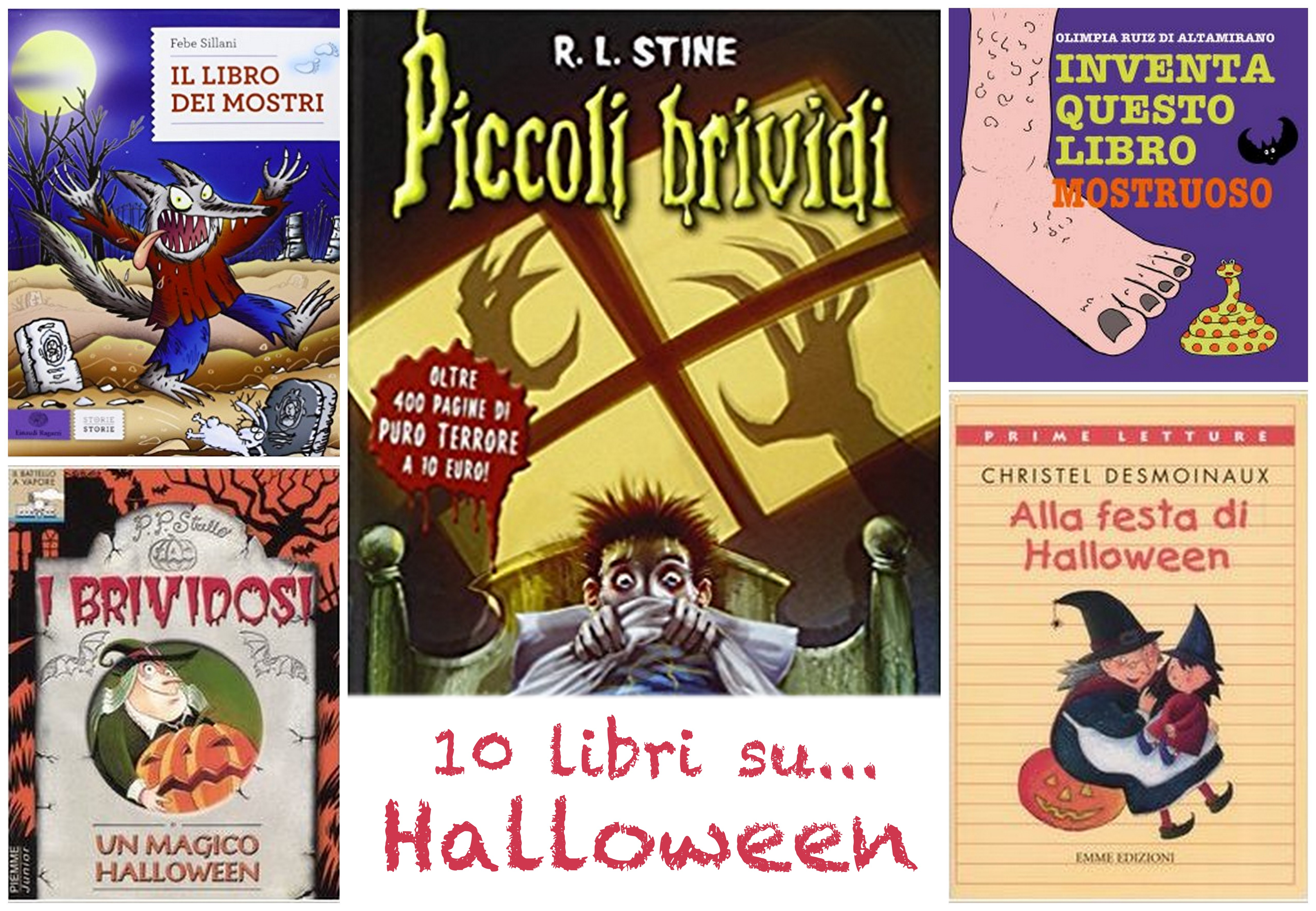 10 libri da 3 a 10 anni su Halloween