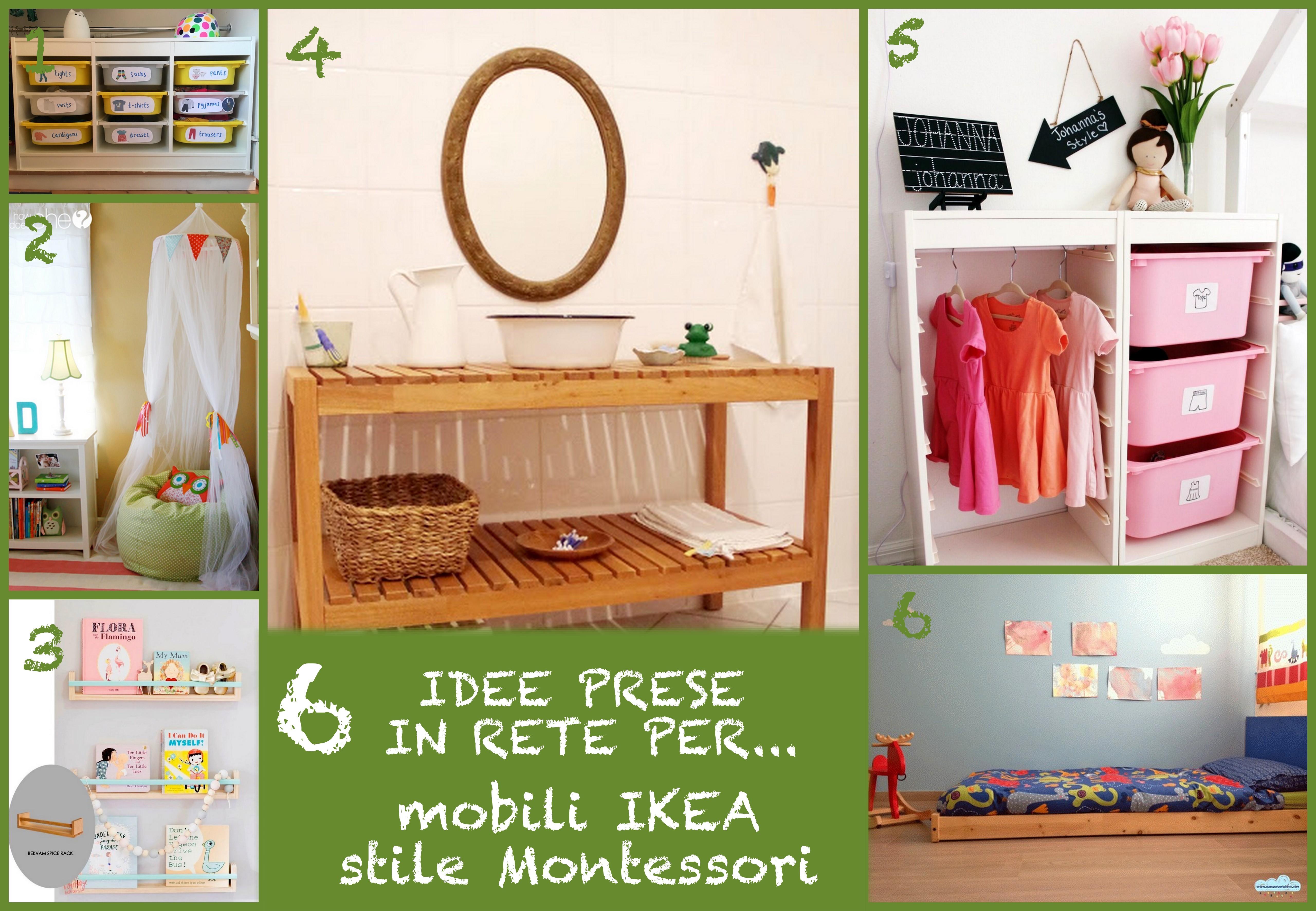 Mobili Ikea Bambini : Idee prese in rete per mobili ikea in stile montessori