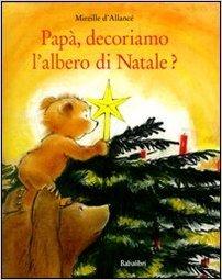 papà decoriamo l'albero libro