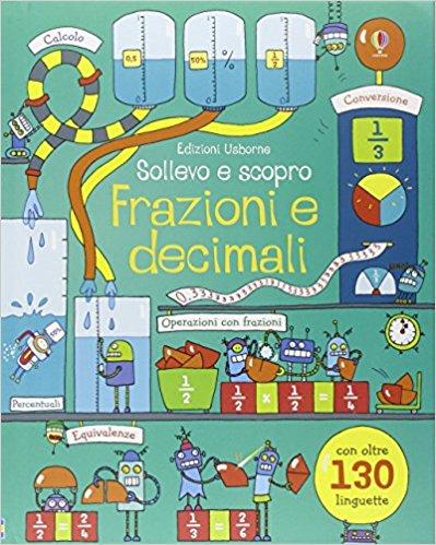 frazioni e decimali libri usborne