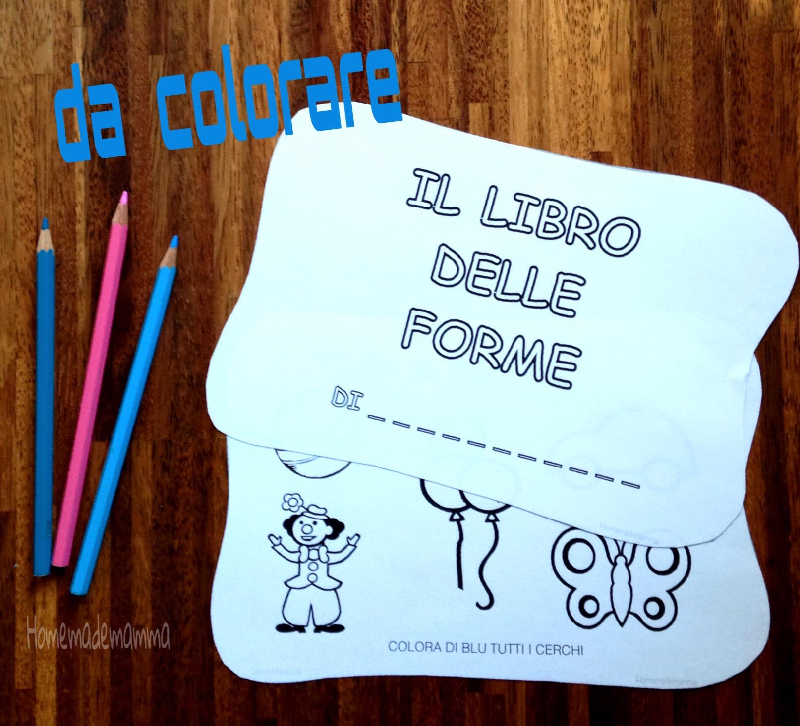 Il libro delle forme - Libro da colorare elefante libro ...