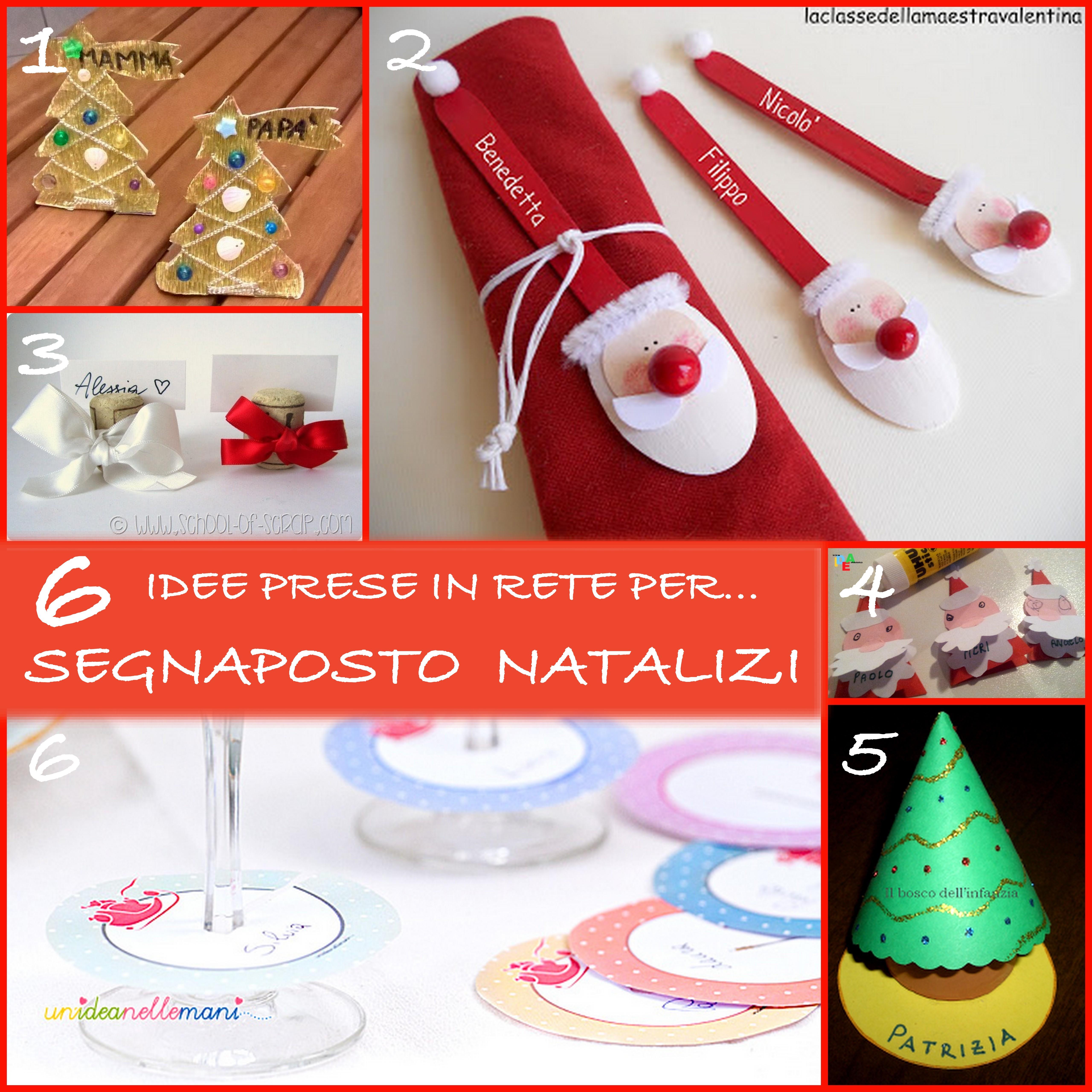 Idee Creative Per Natale 6 idee prese in rete per… segnaposto natalizi fai da te