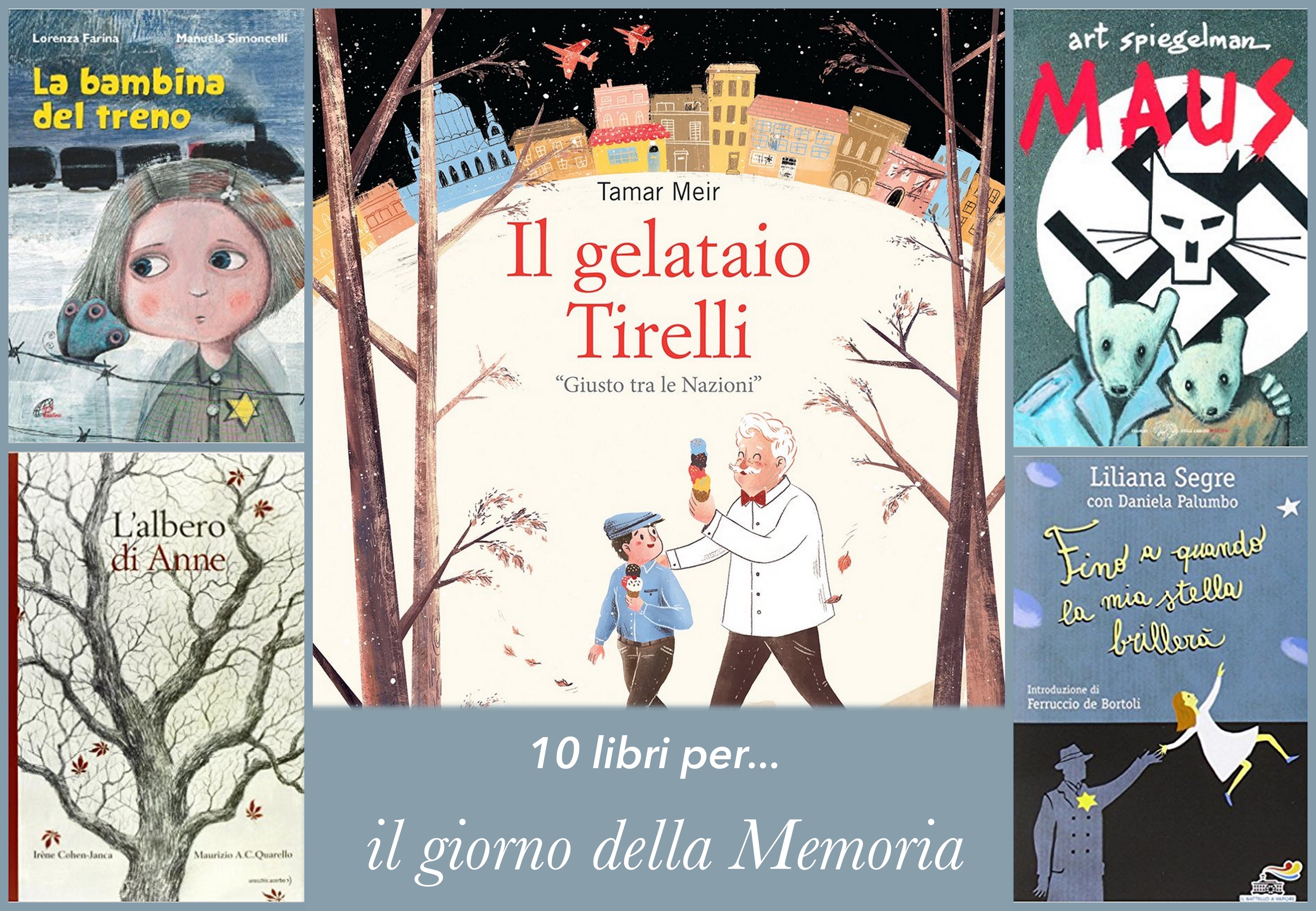 10 libri per il giorno della memoria