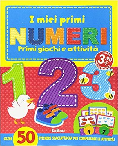i miei primi numeri libro