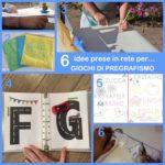 6 idee prese in rete per… giochi di pregrafismo